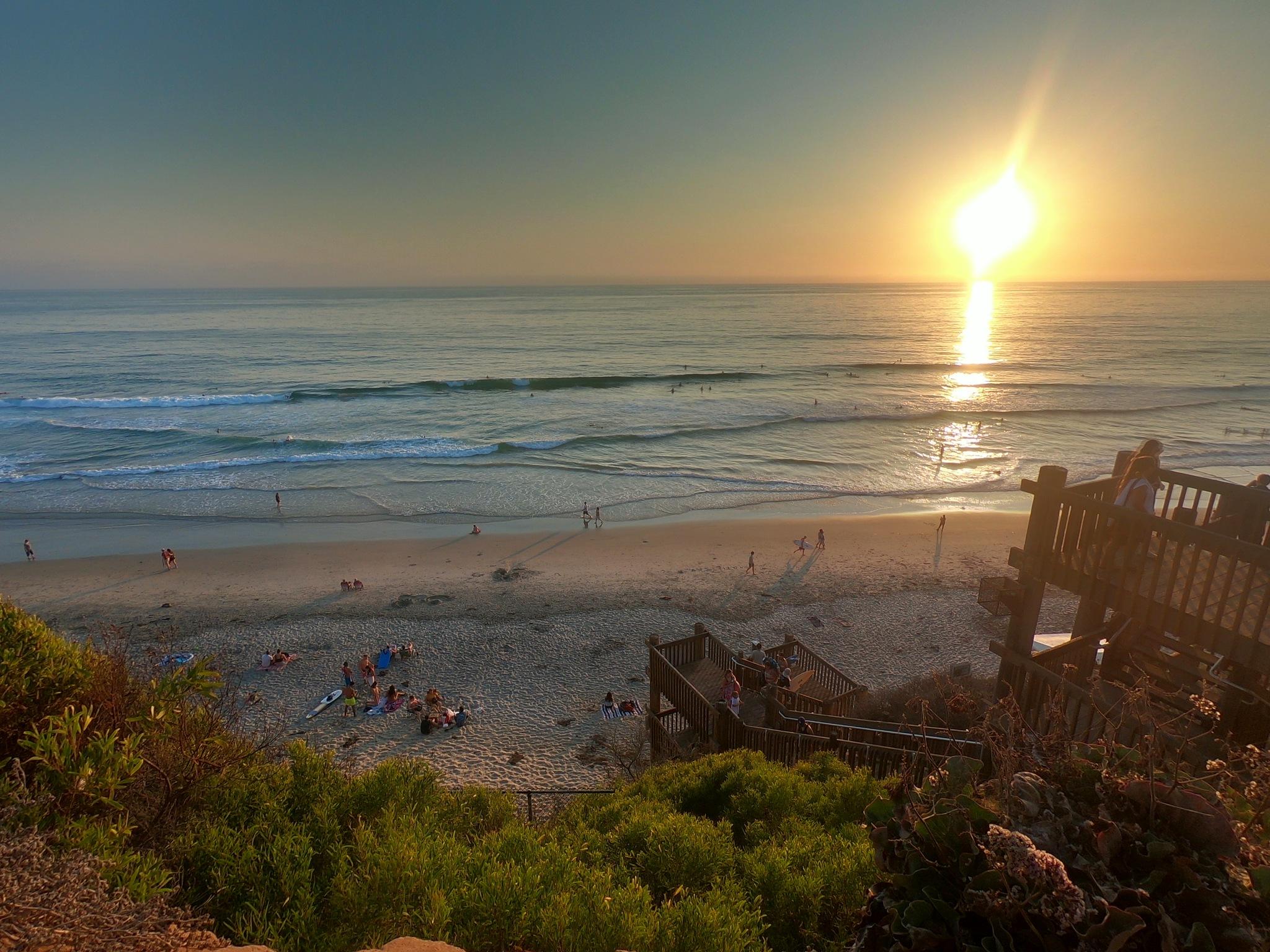 Moonlight Beach ✨ San Diego  by Gioana Kojdheli