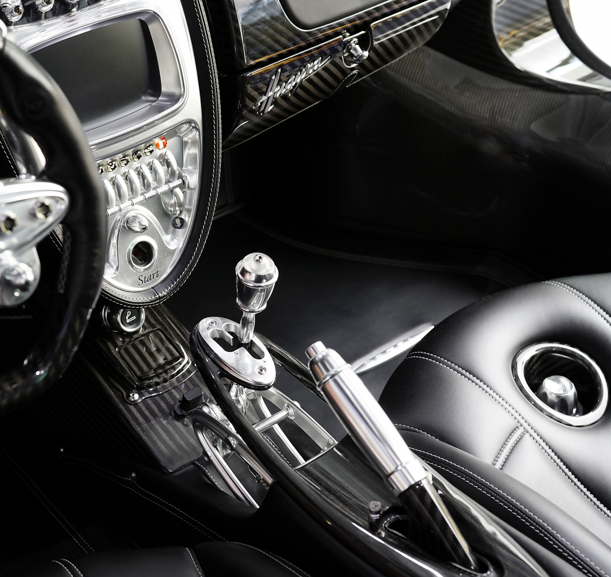 Pagani Huayra Interior by Terry R. Stahly