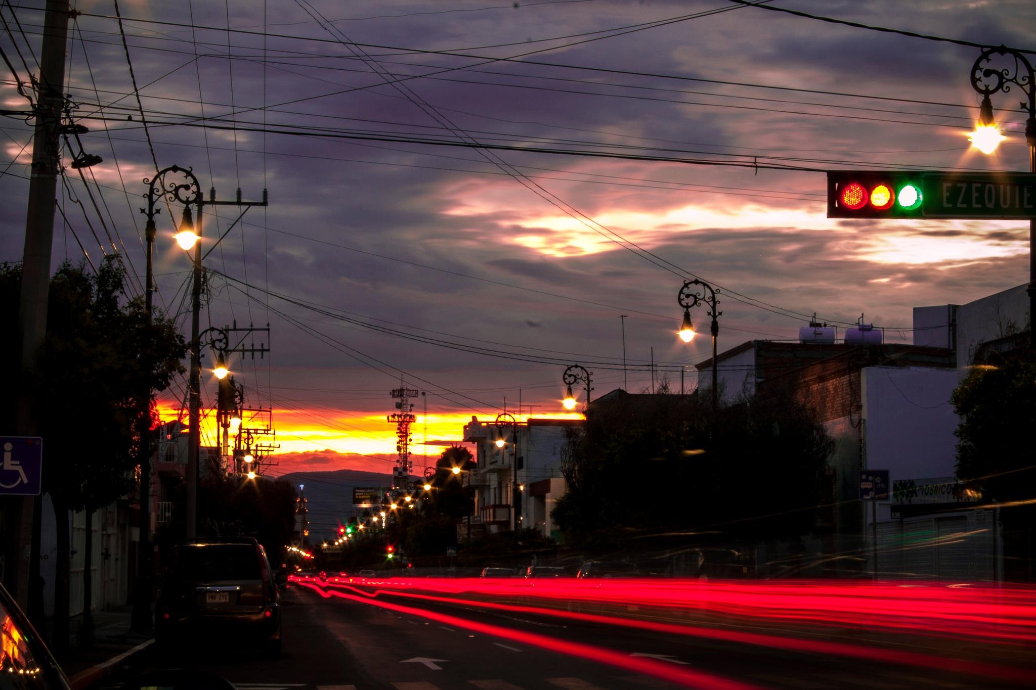 Sunday Sunset  by Jorge Gb