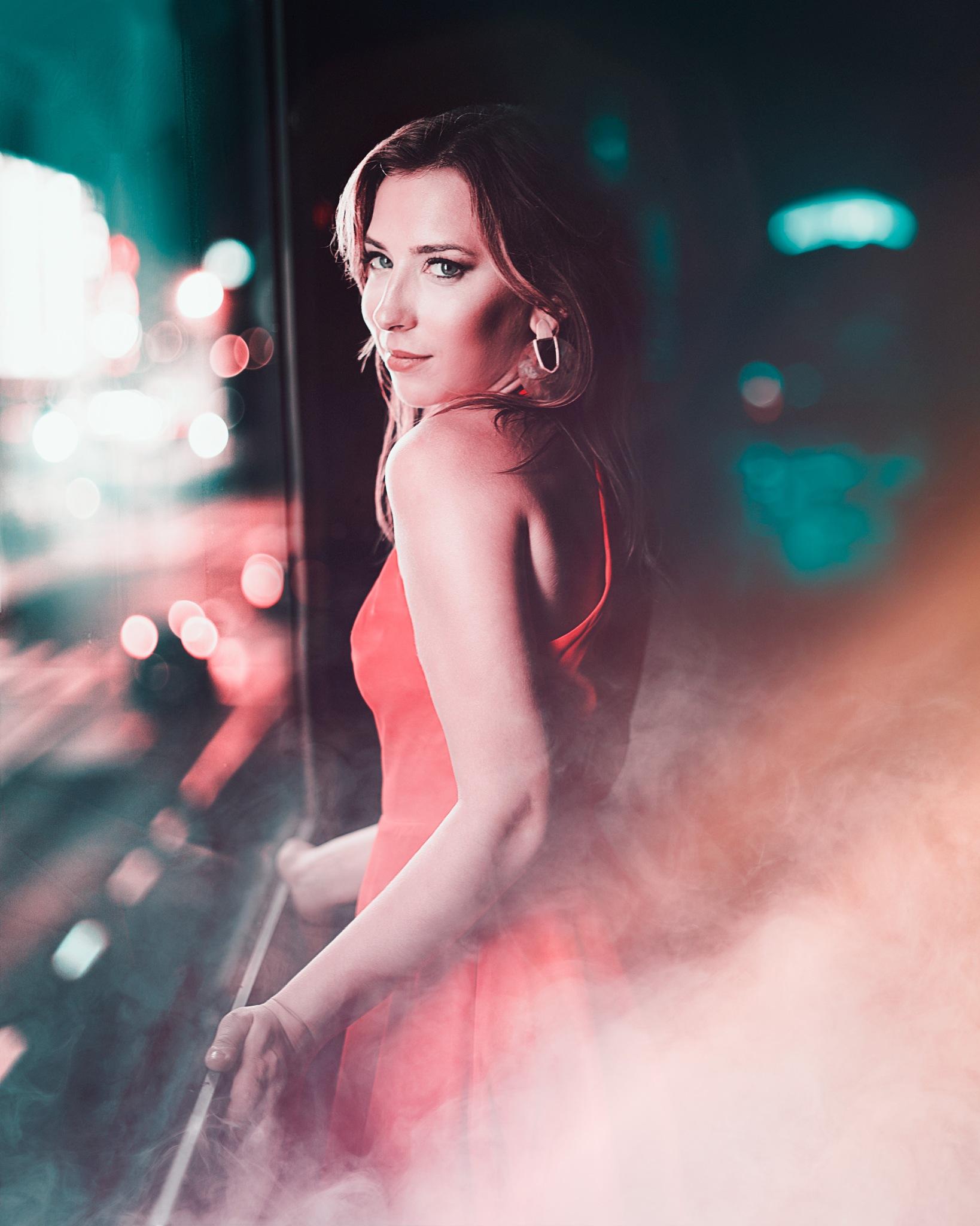Jess in a dress by Paul Sebring