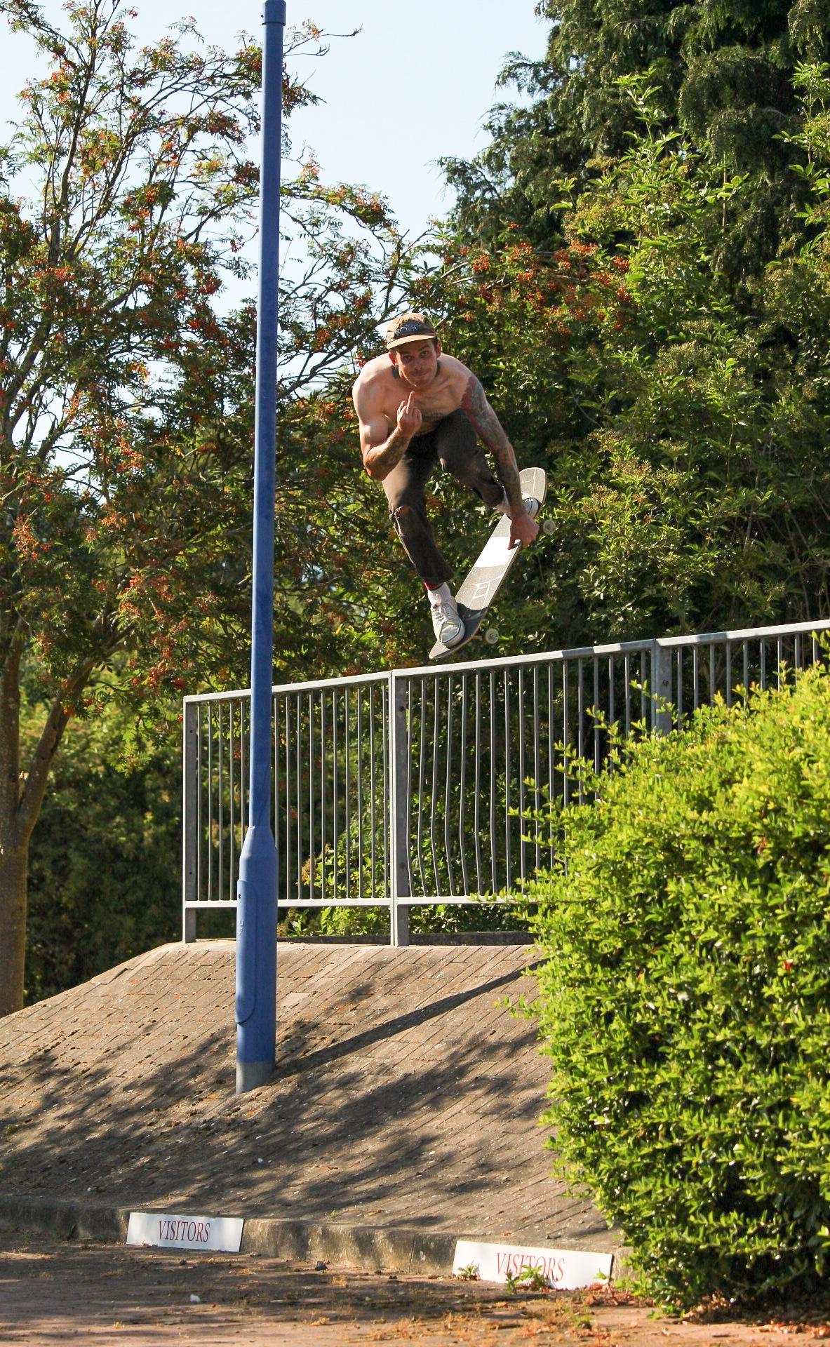 flipping the bird  by Dan whitney