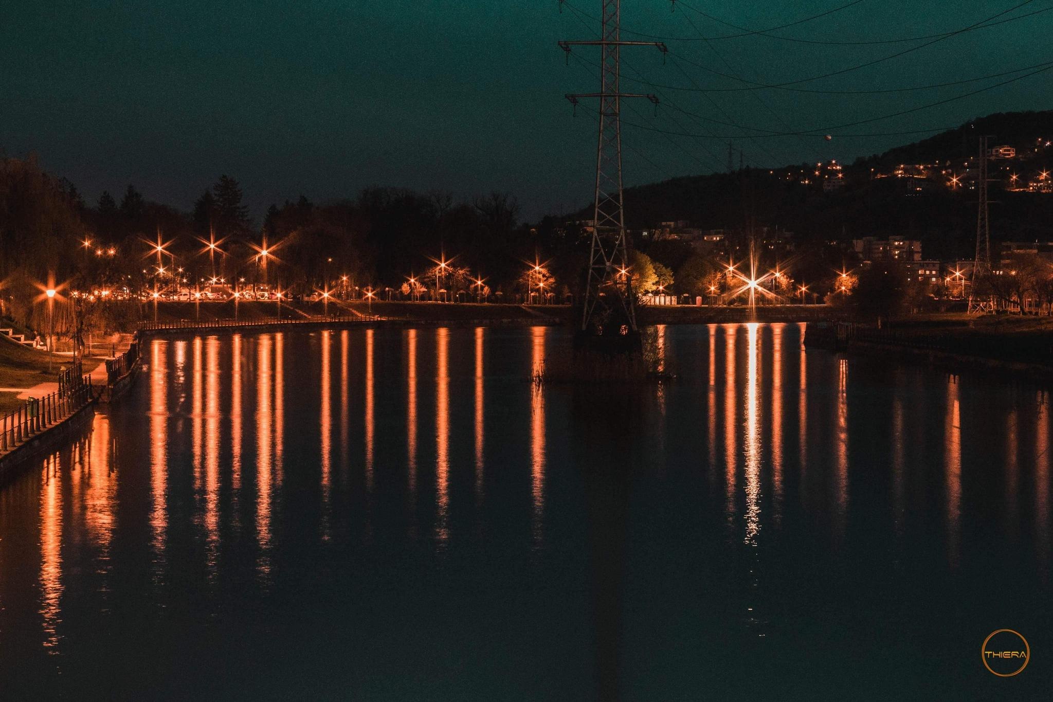 City lights. by Tunyogi I. György