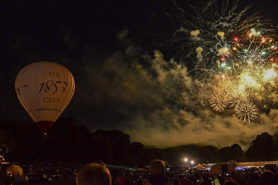 Fireworks at the Balloon Fiesta  by Adam Vaughan