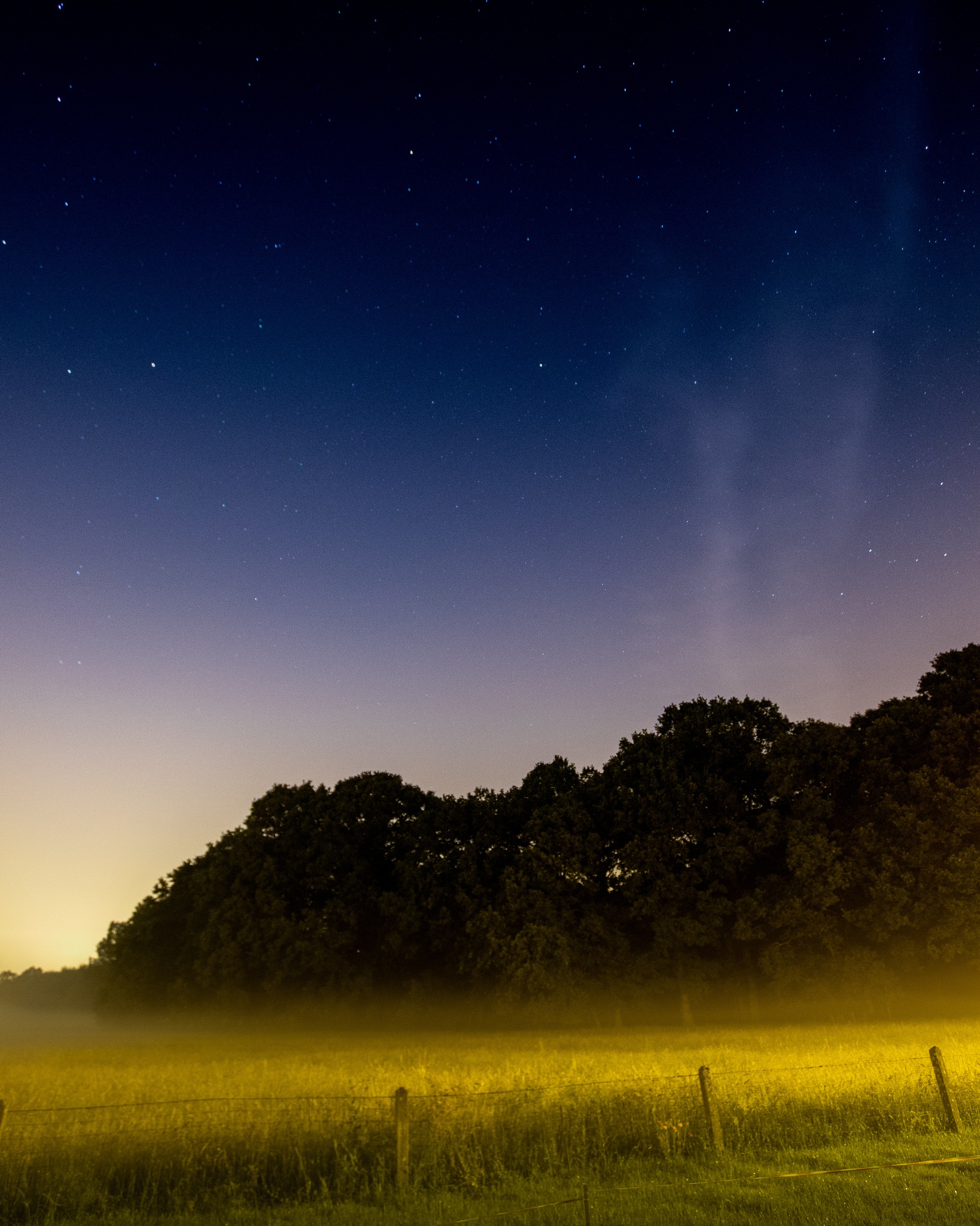 Sky and mist by Thierry Royls