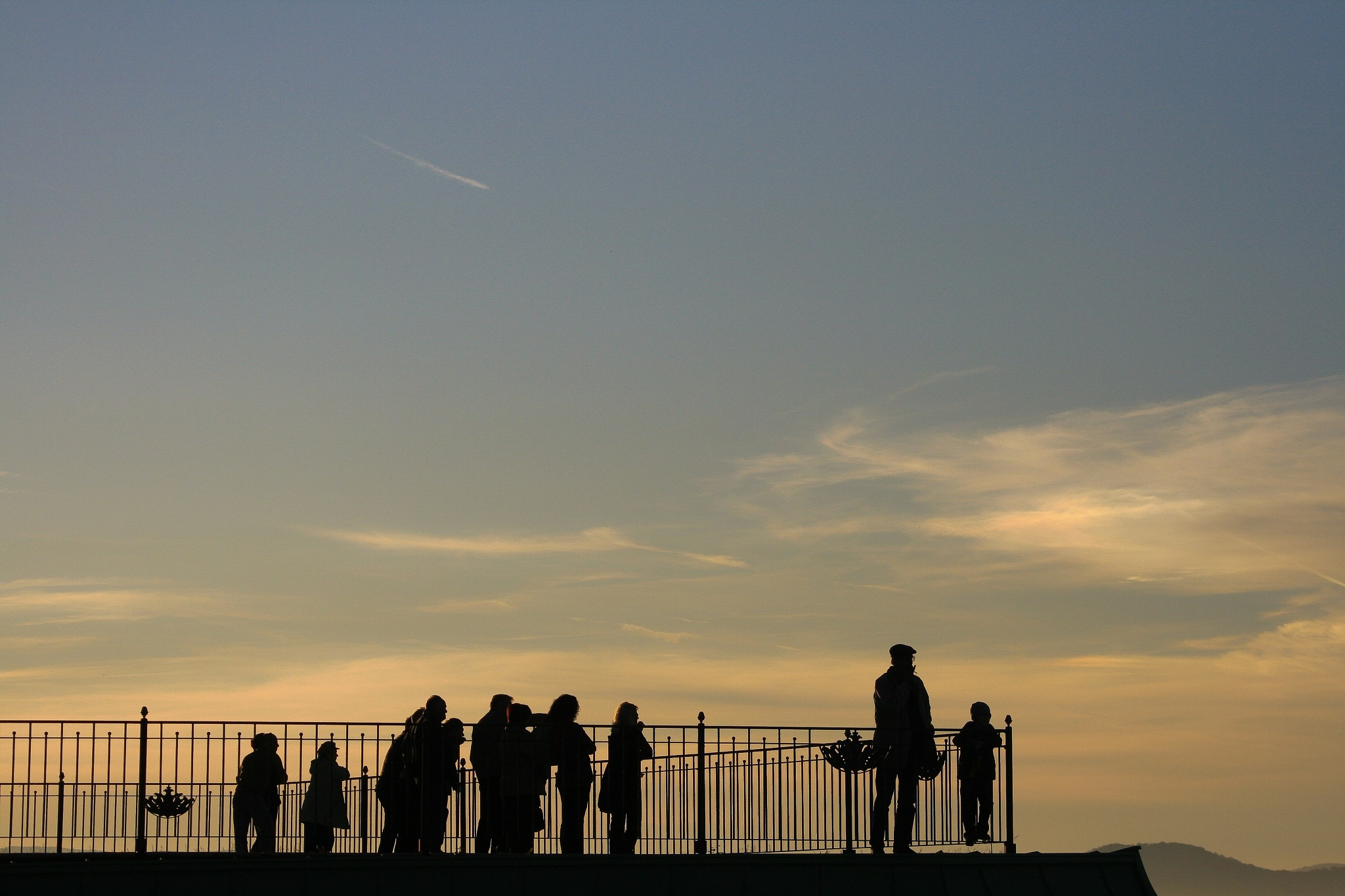 people at the sunset by Thierry Royls