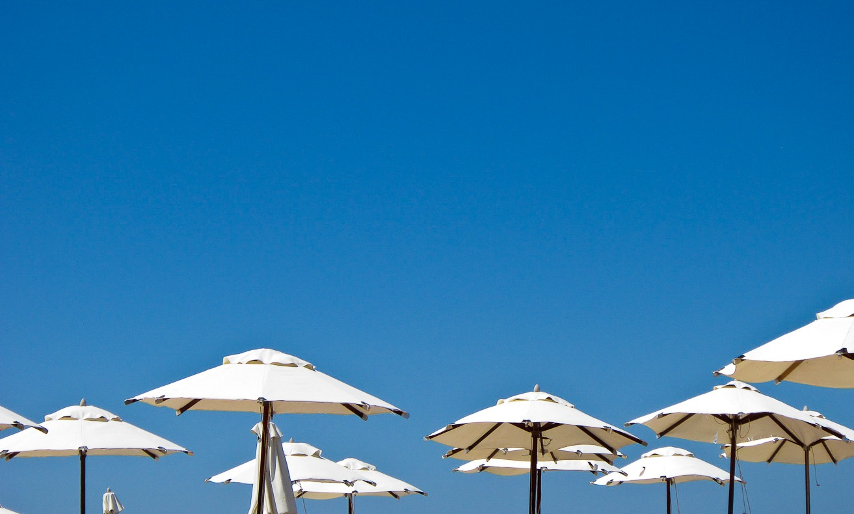 Beach umbrella by Thierry Royls