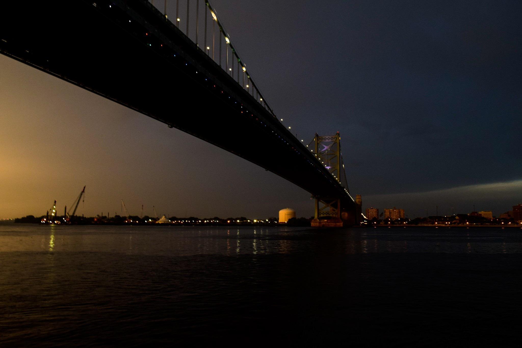 Benjamin Franklin Bridge by Kayla Ann