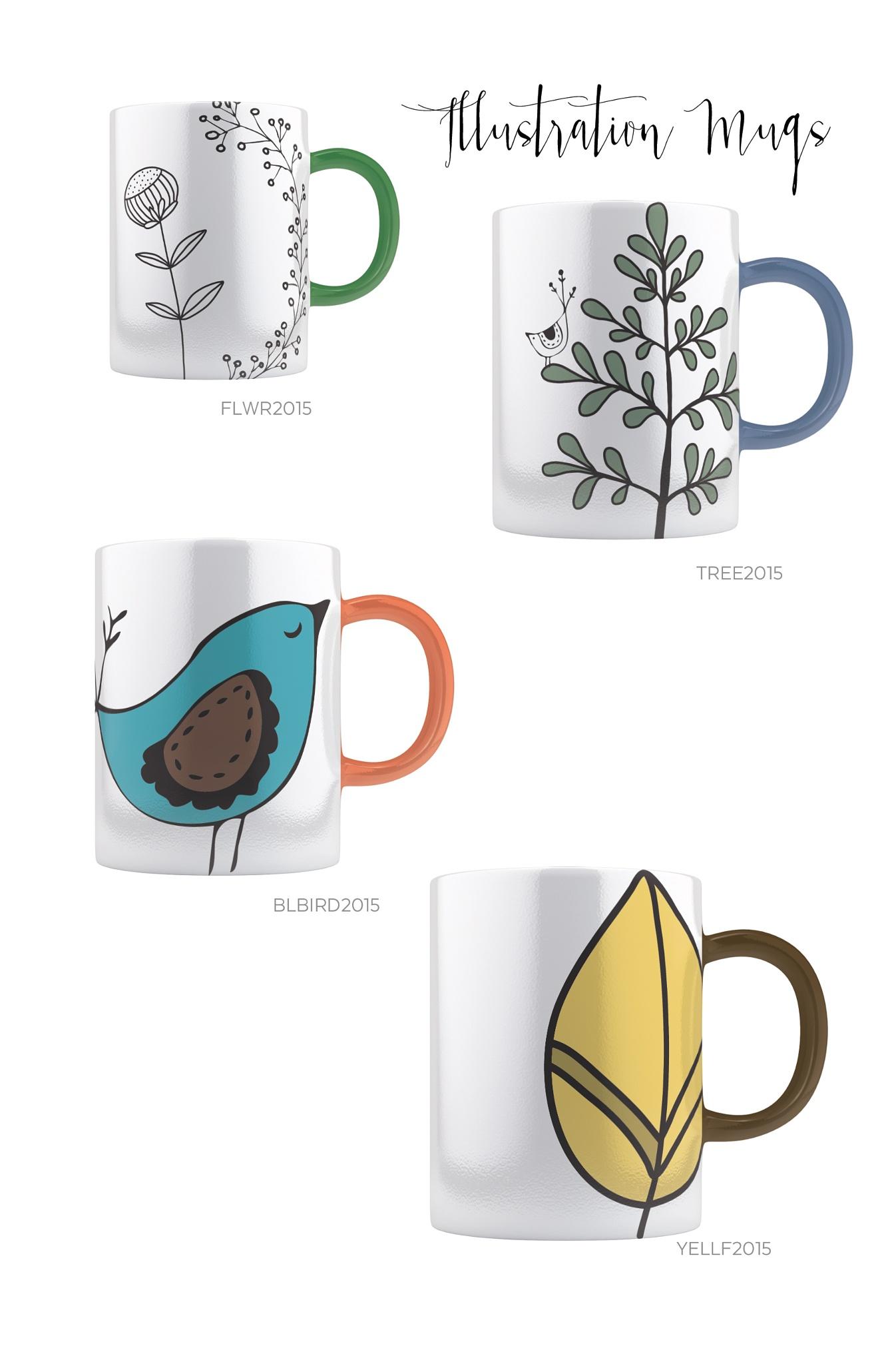 Art Mugs by Celina del Castillo