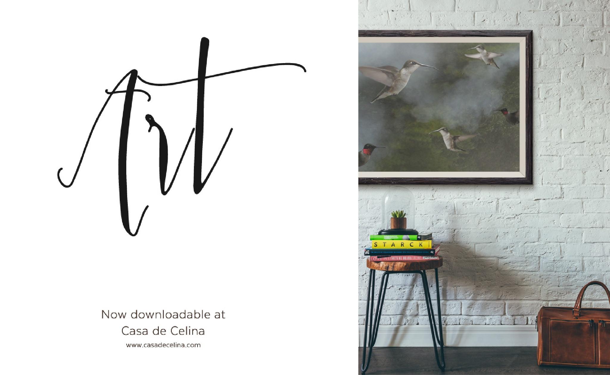 Hummingbird ad by Celina del Castillo by Celina del Castillo