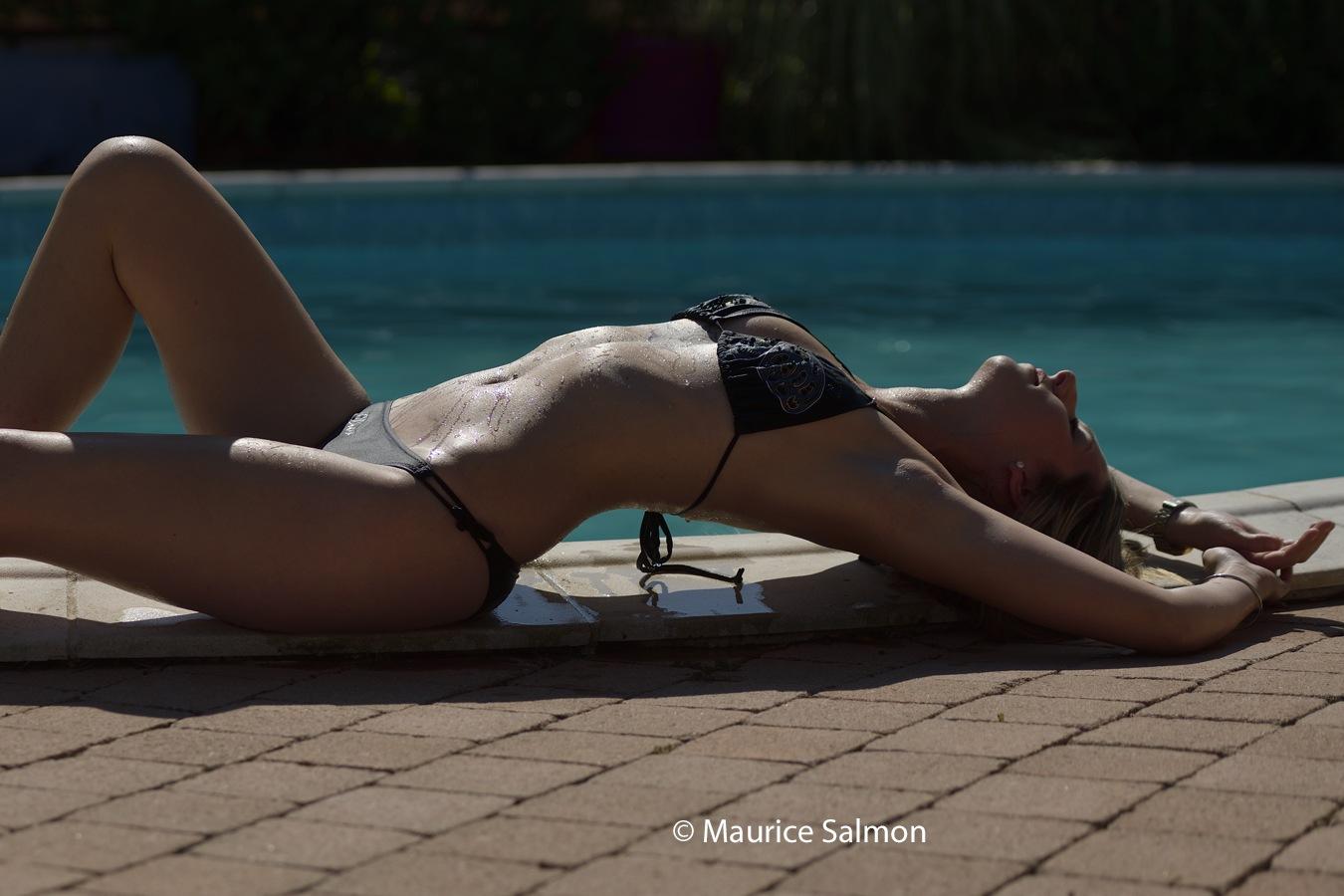 Emma au soleil by Maurice Salmon
