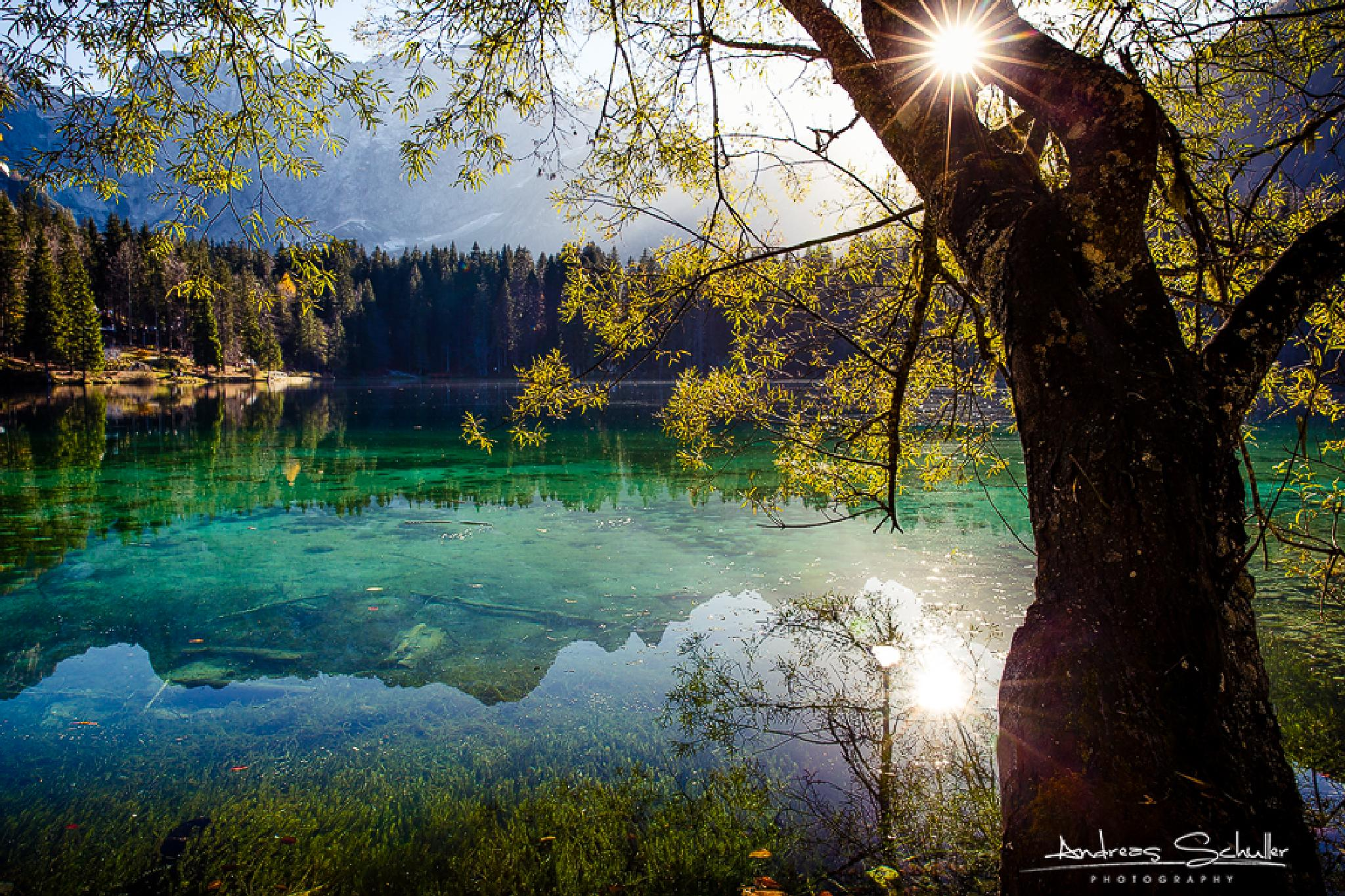 laghi di fusine by Andreas Schuller
