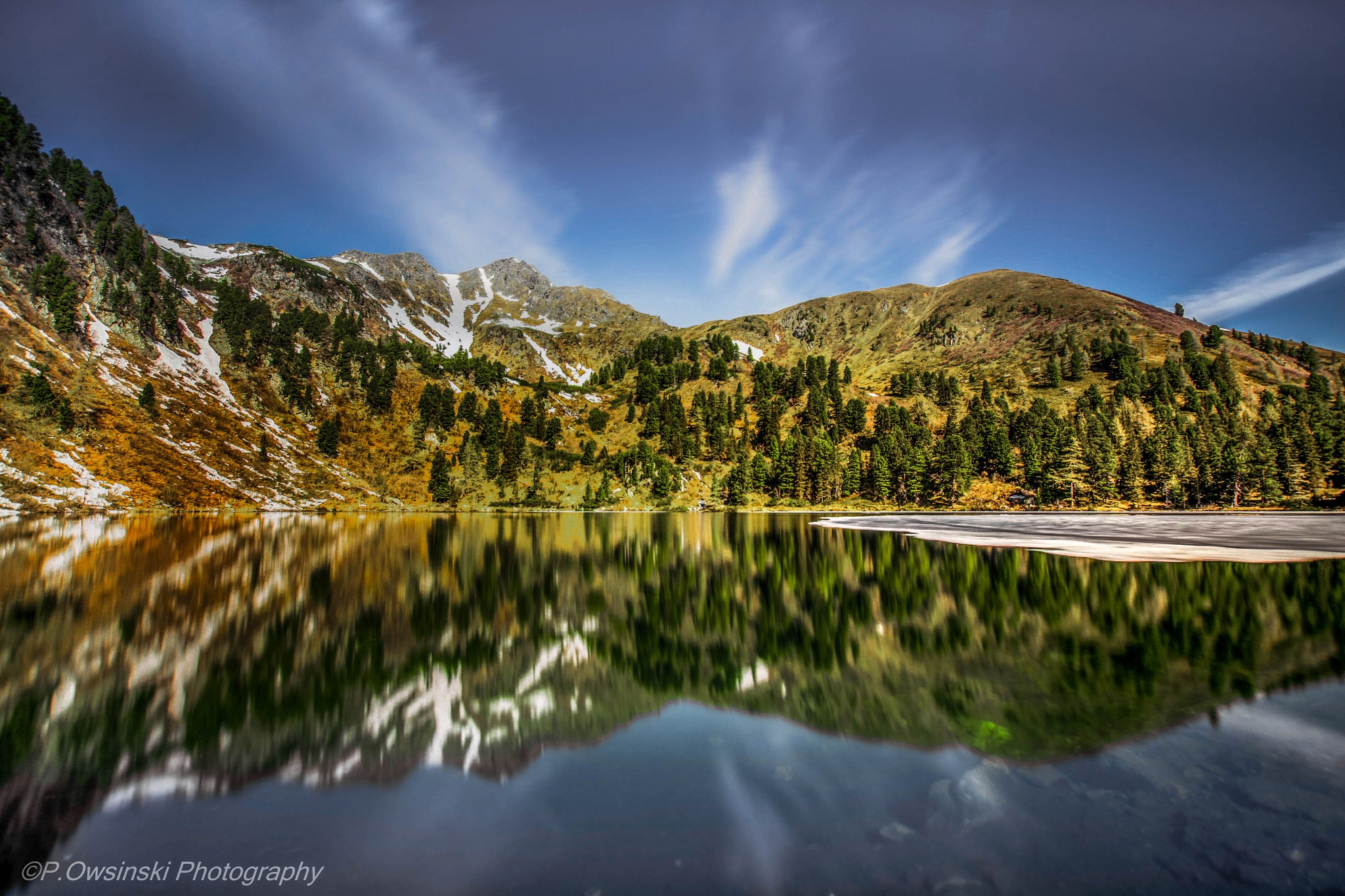 The Lake Großer Scheibelsee by naturfotografieat