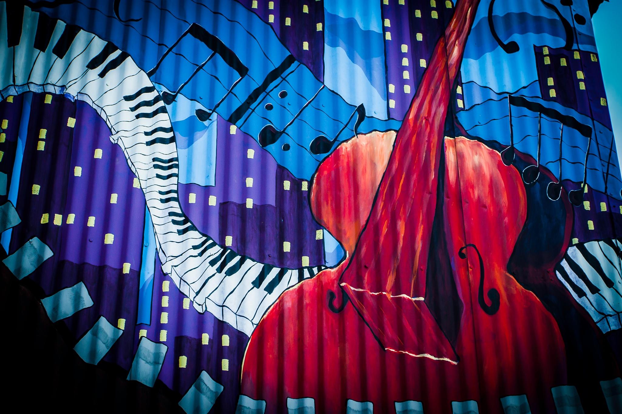Viola ! by Patrick Bogan