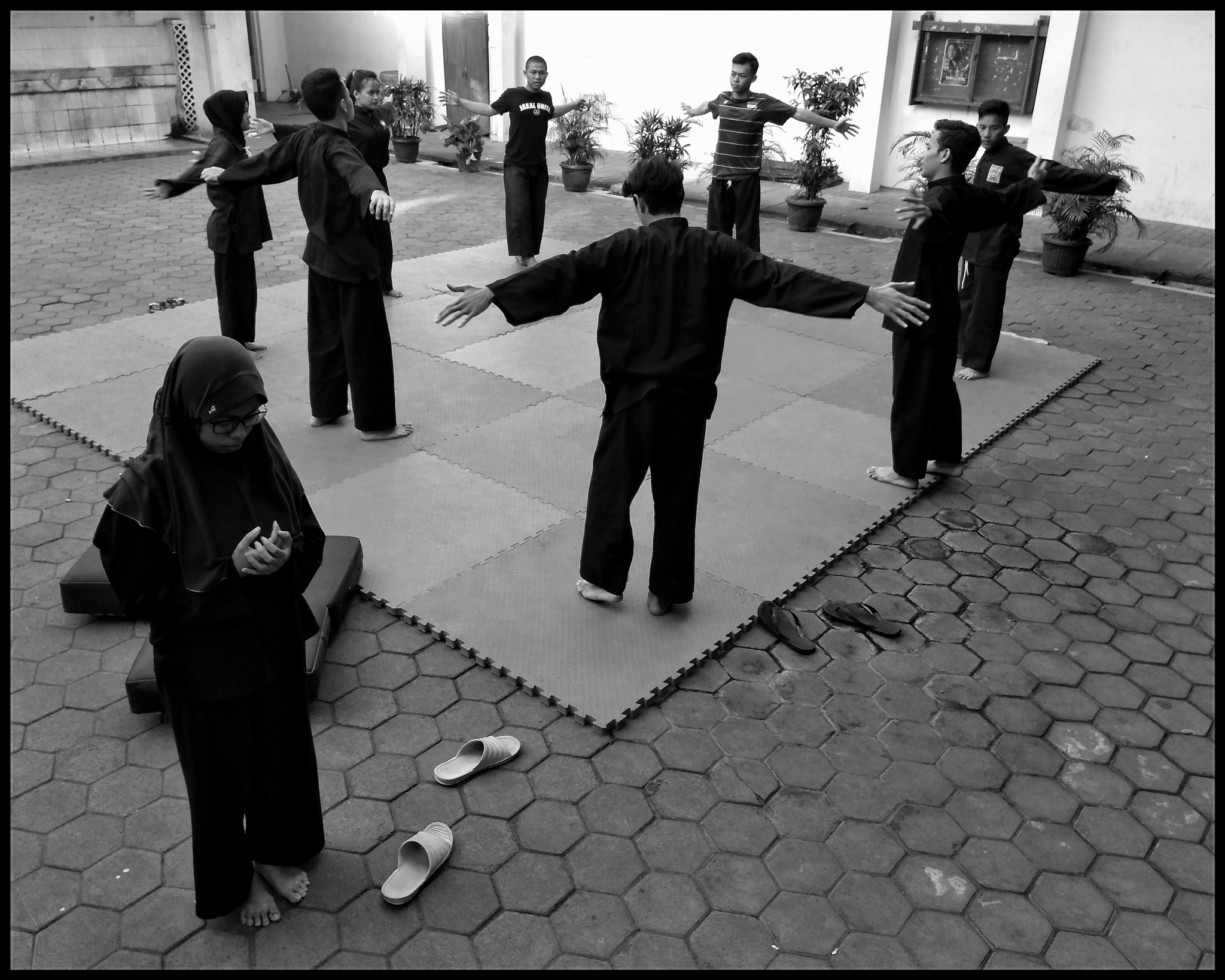 Pray before practice by kukuh_truna_wijaya