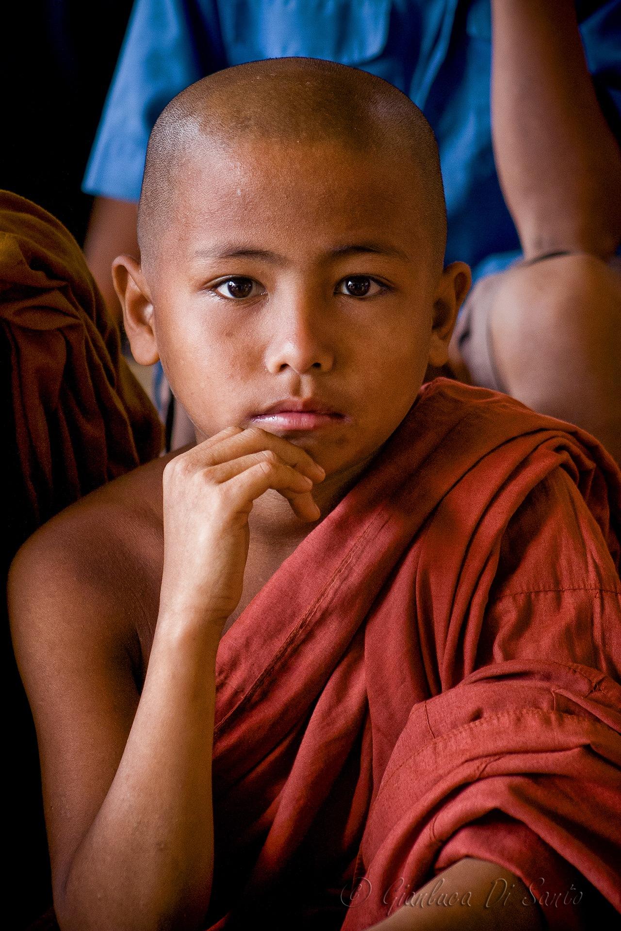 Young Marma monk by Gianluca Di Santo