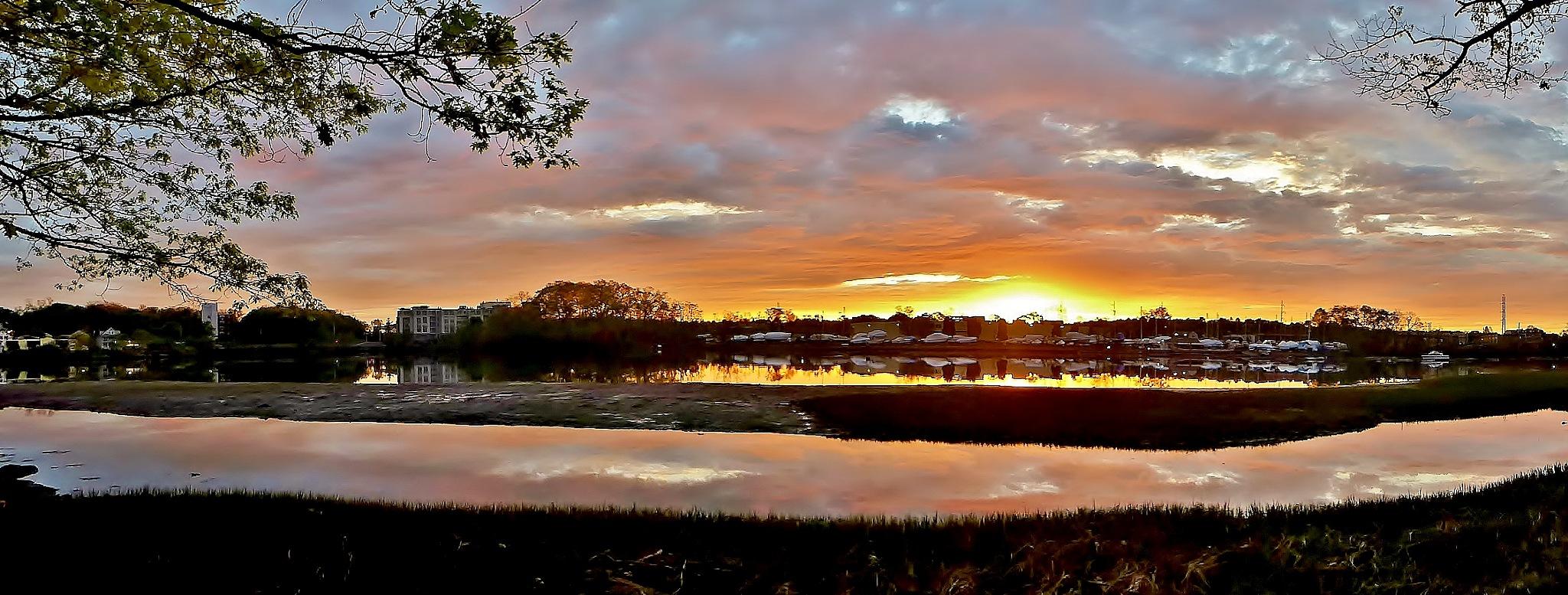 Bass River Sunrise by D. Scott Hufford