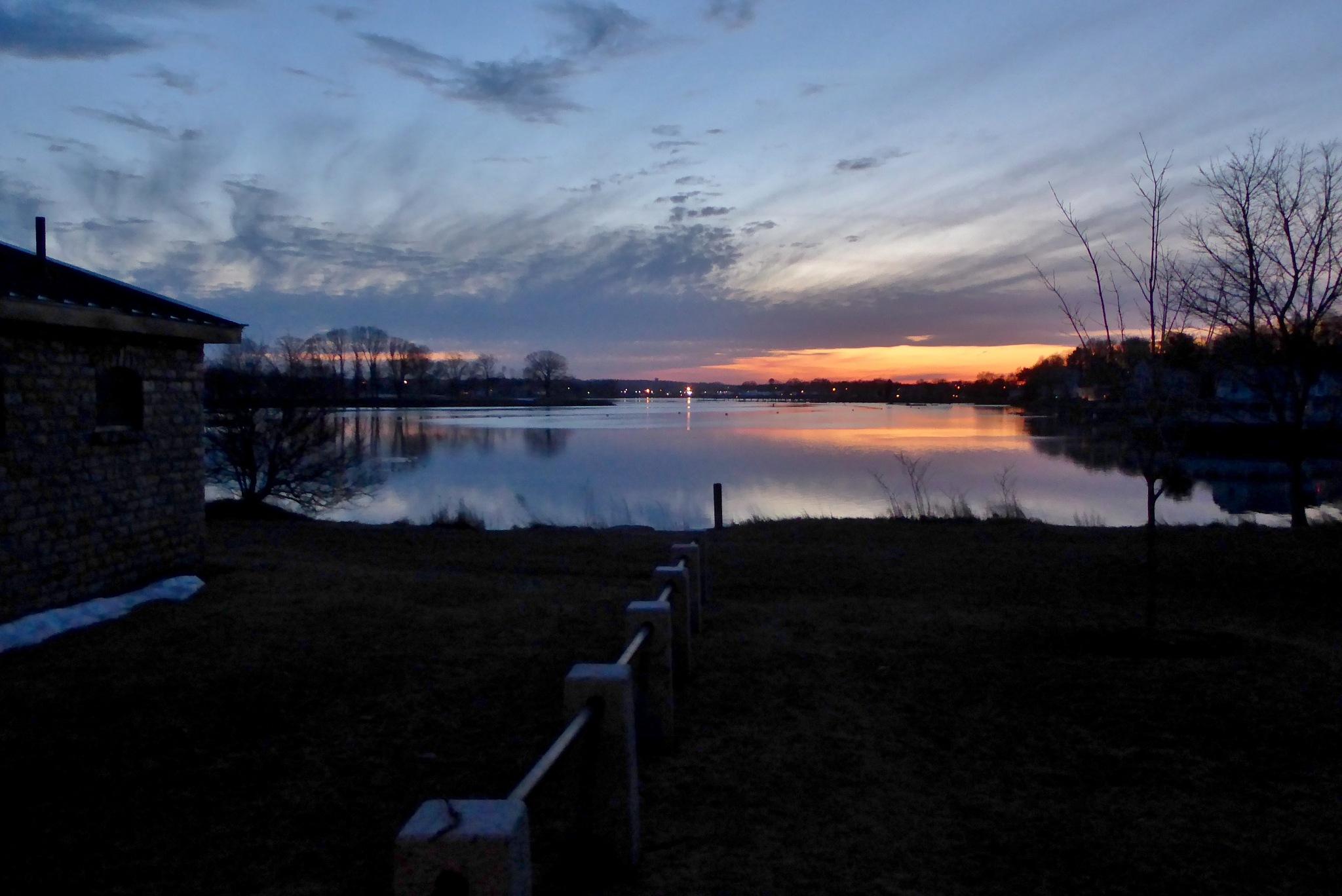 Obear Park Sunset by D. Scott Hufford