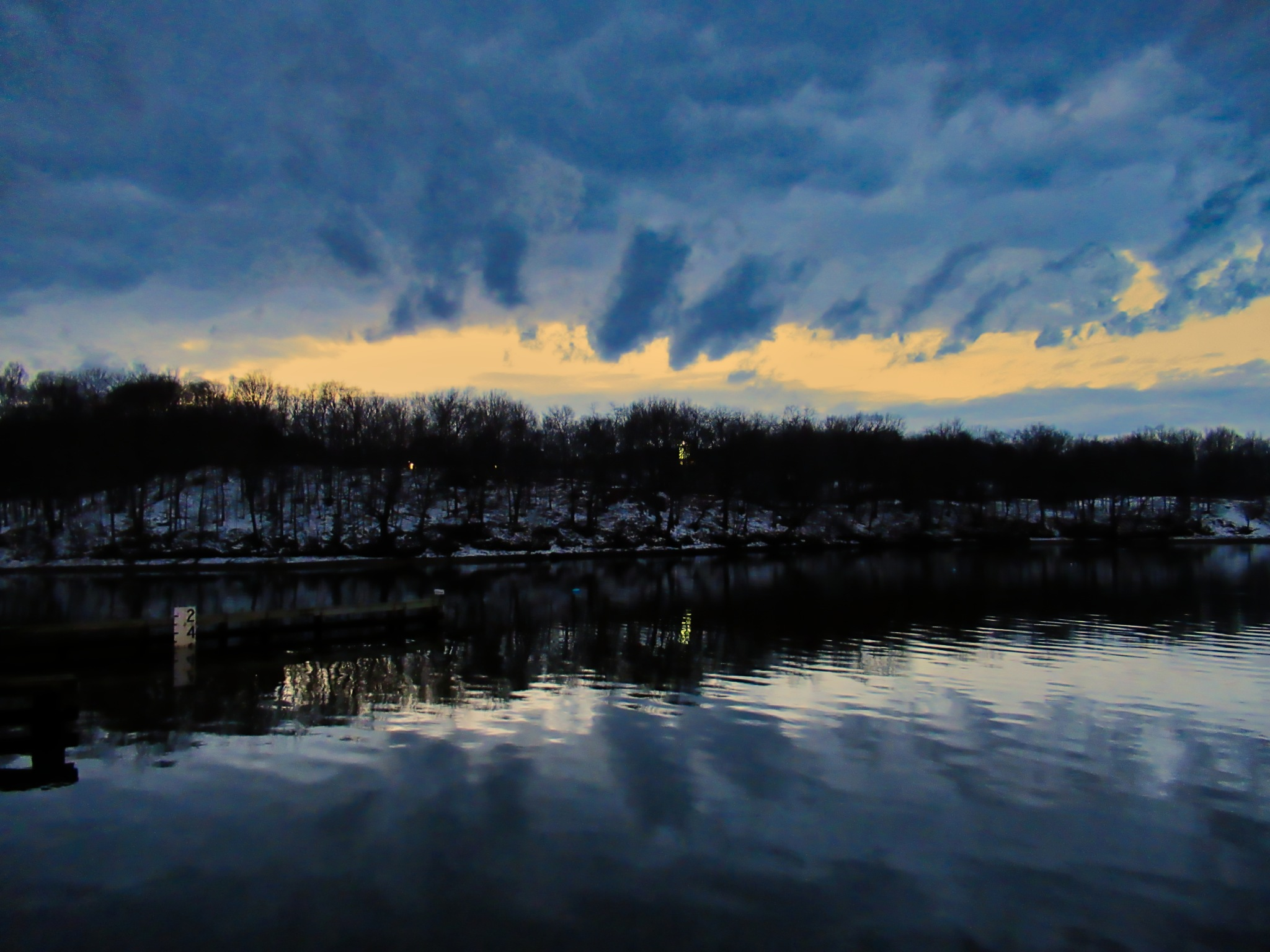 The Bass River after Sunset by D. Scott Hufford