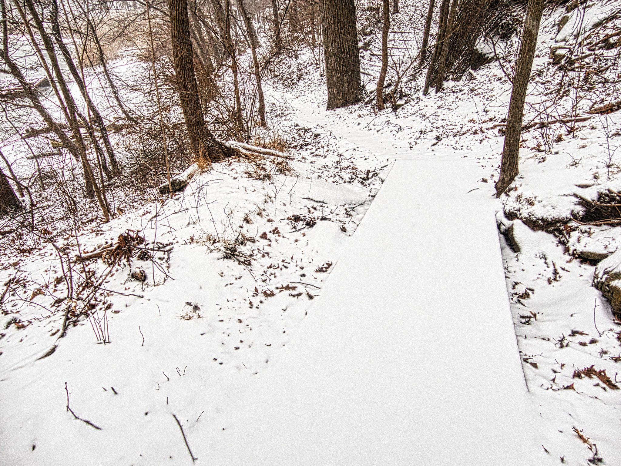 Green's Hill in the Snow by D. Scott Hufford