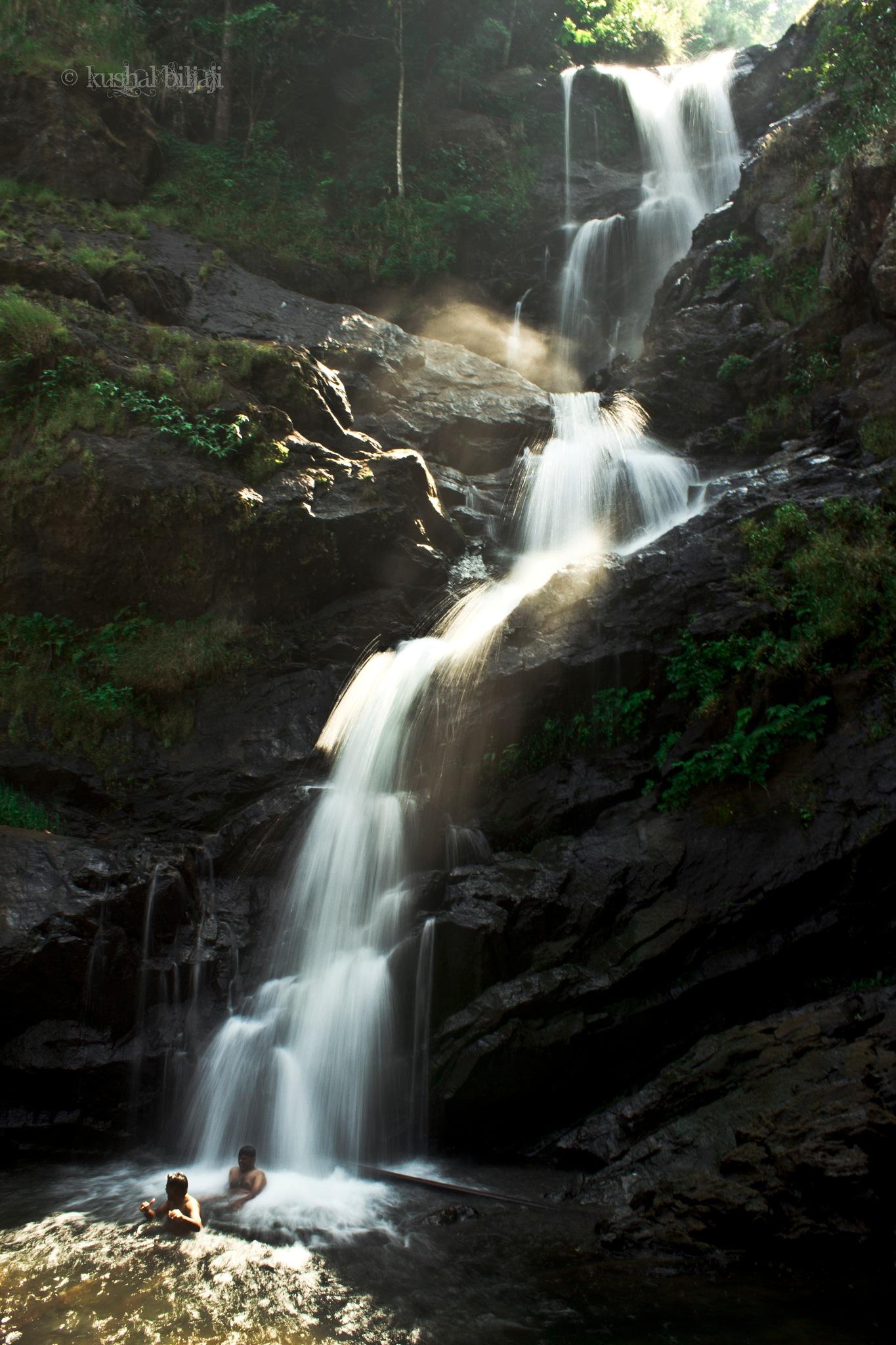 Irupu Falls by Kushal Bilijaji