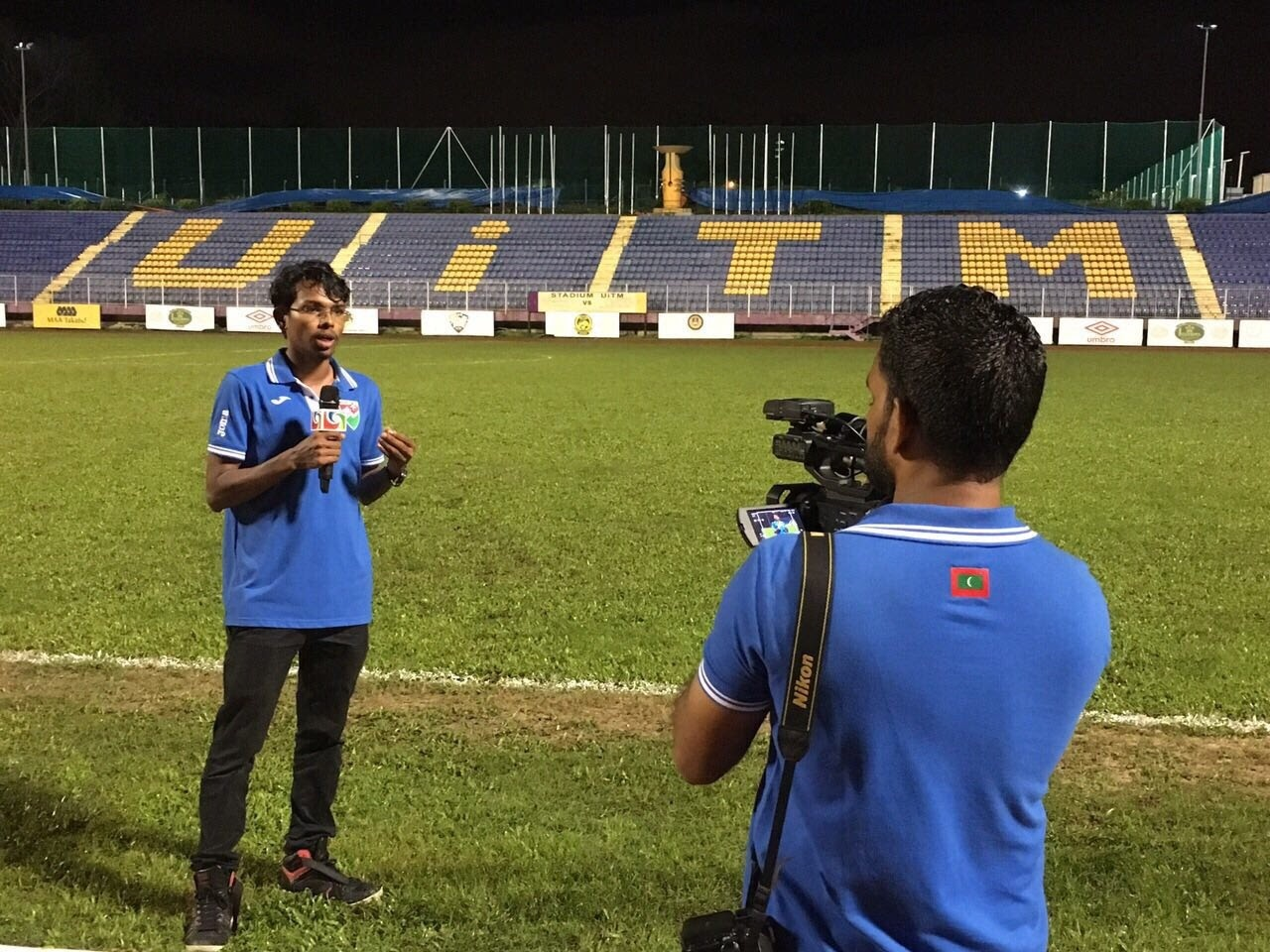 Maldives national team in Malaysia  by Mohamed Hamza
