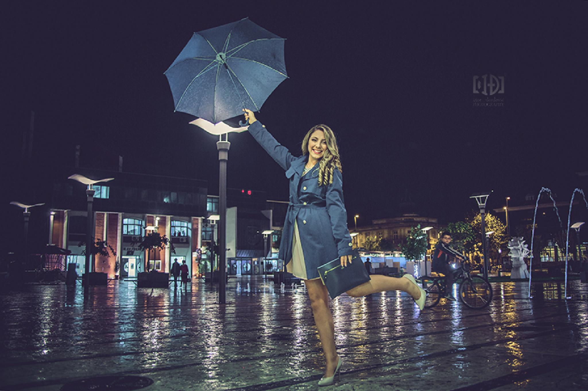 Singing in the rain by Igor Djordjevic
