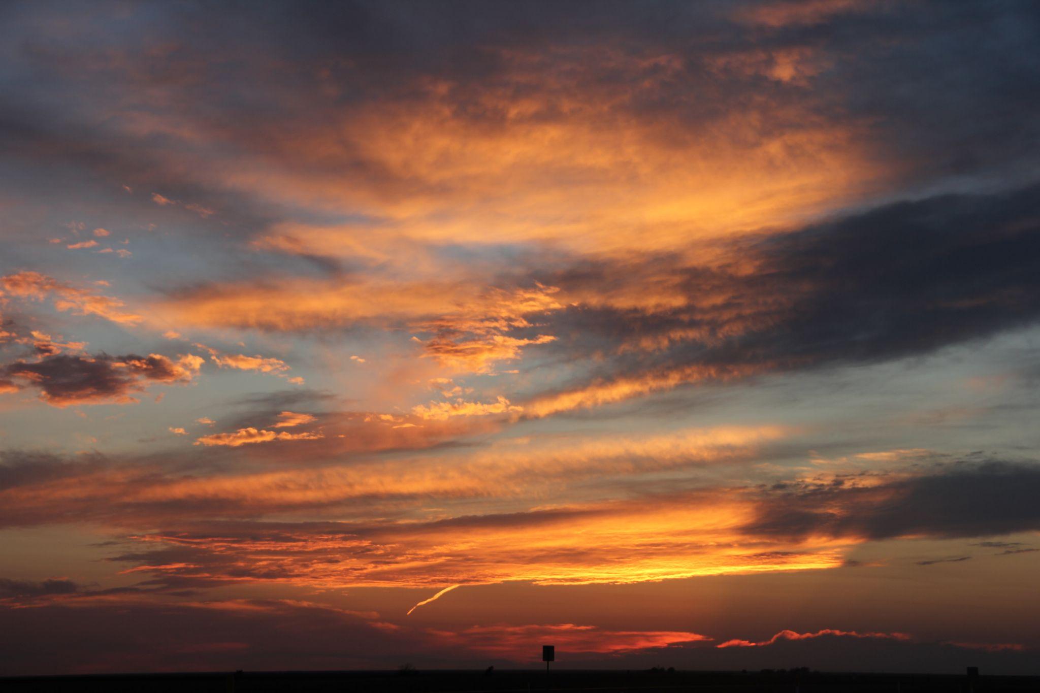 Sunset by Lori Stalcar