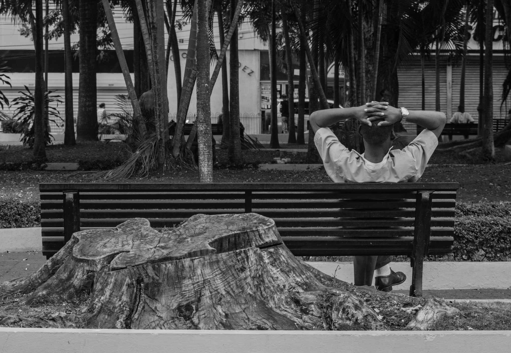 chilling by Miguel Noboa