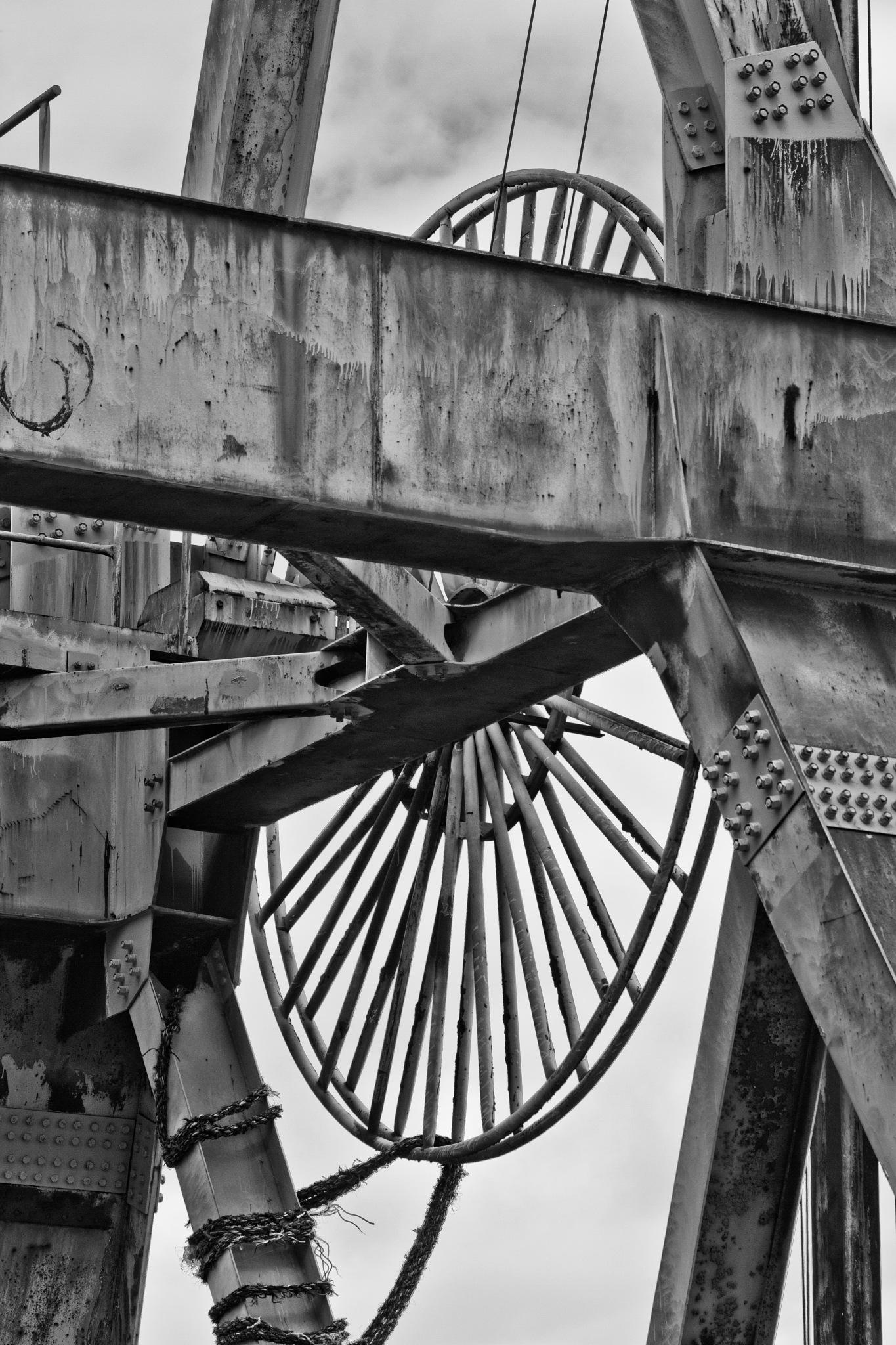 Old Crane detail by Antje Braun
