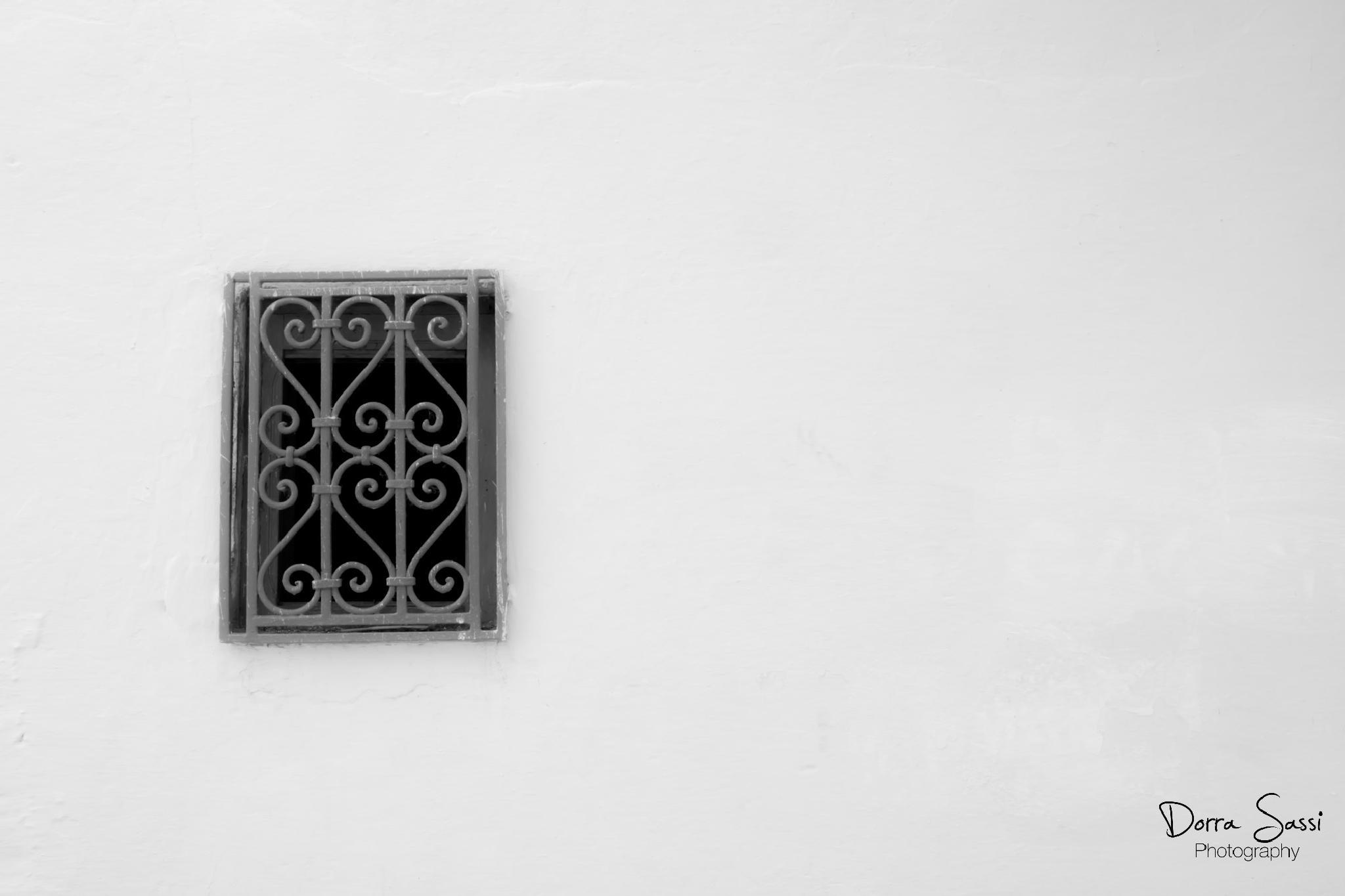 window by Dorra sassi
