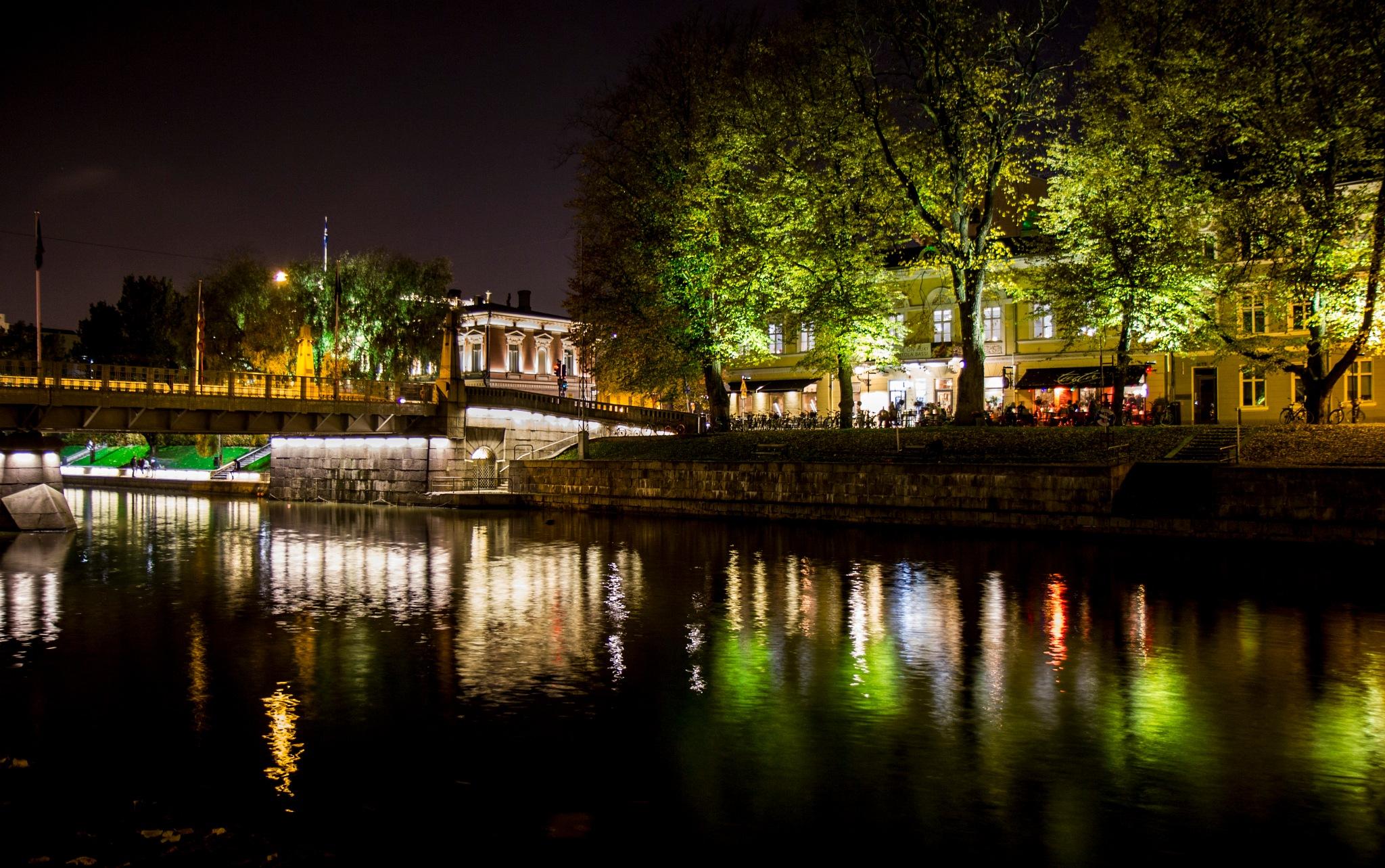 Warm autumn night by Anne Kivinen