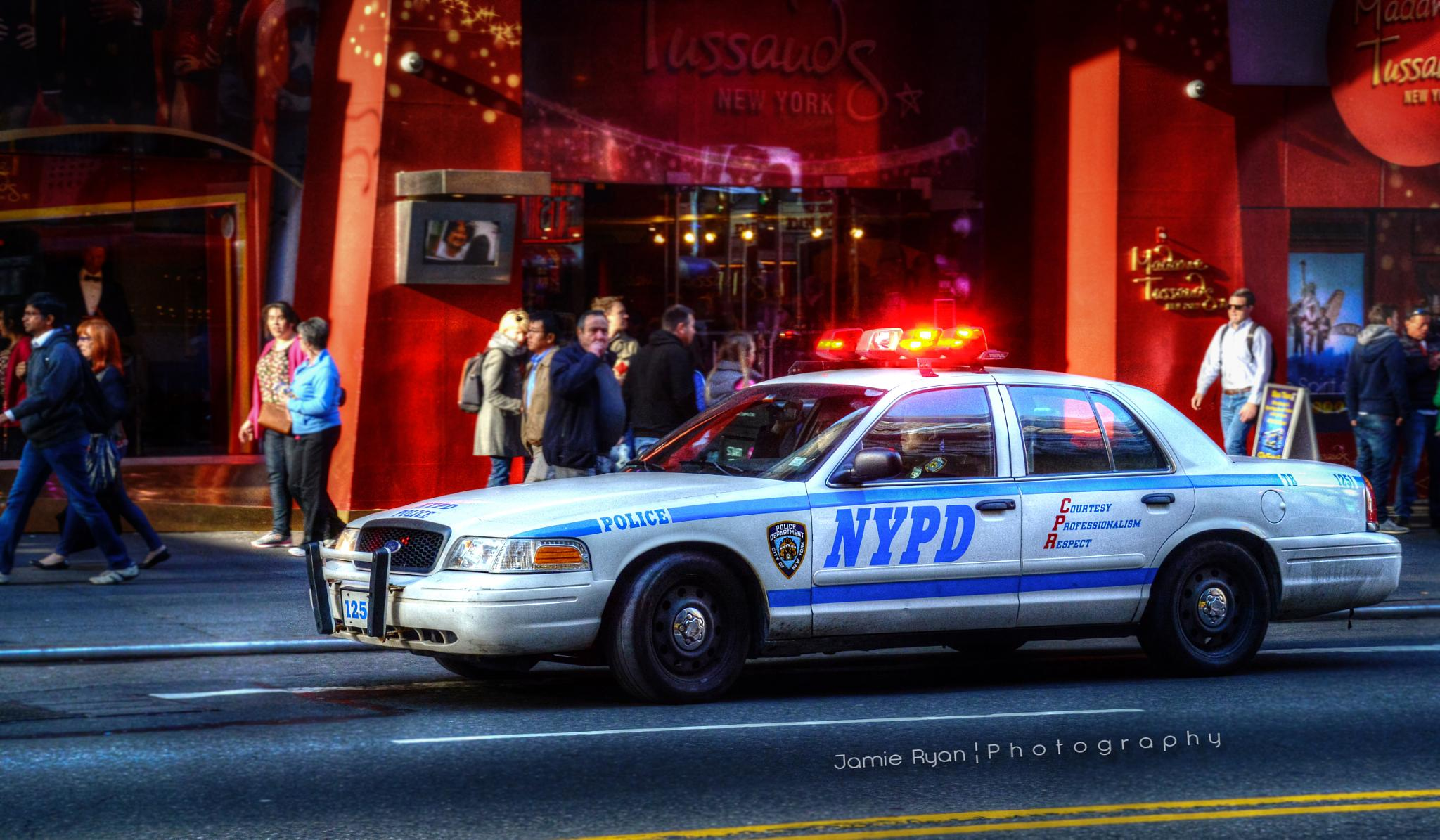 Photo in Street Photography #nypd #nyc #new york city #police #cop #cops #ford #nikon #d7100 #hdr