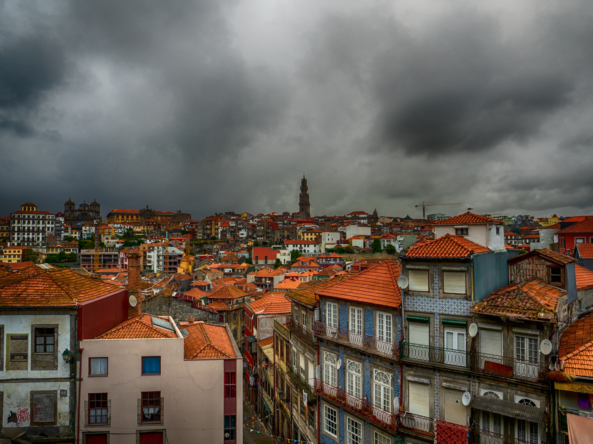Typical Dreary Porto Day by Carrie Thompson