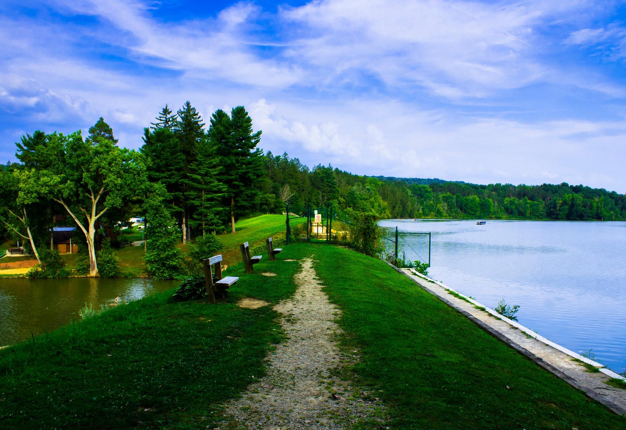 Split Lake by Devante Bennett-Lee