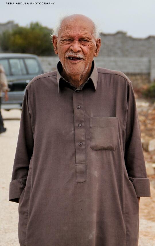 my dear grandfather  by Reda abdula