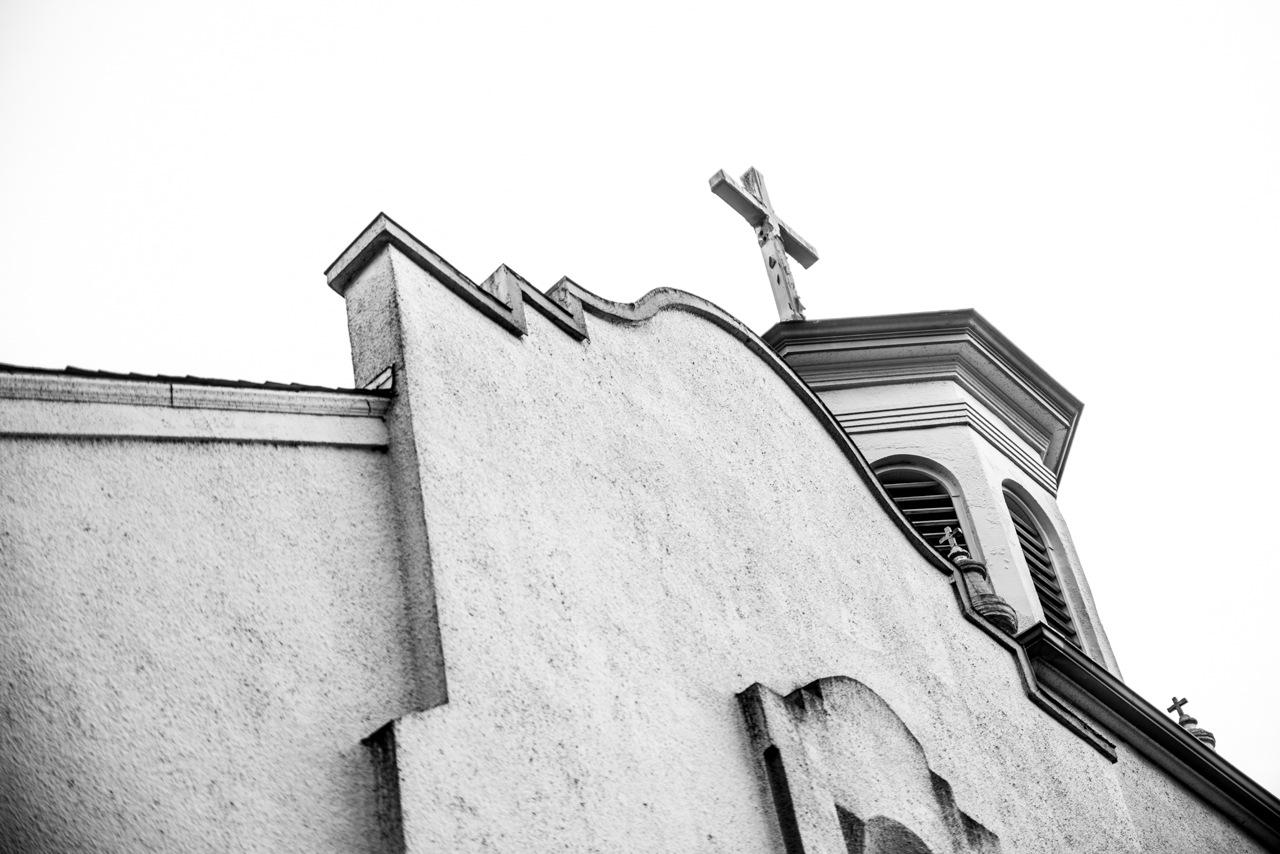 Lil church on the corner  by KimKaru