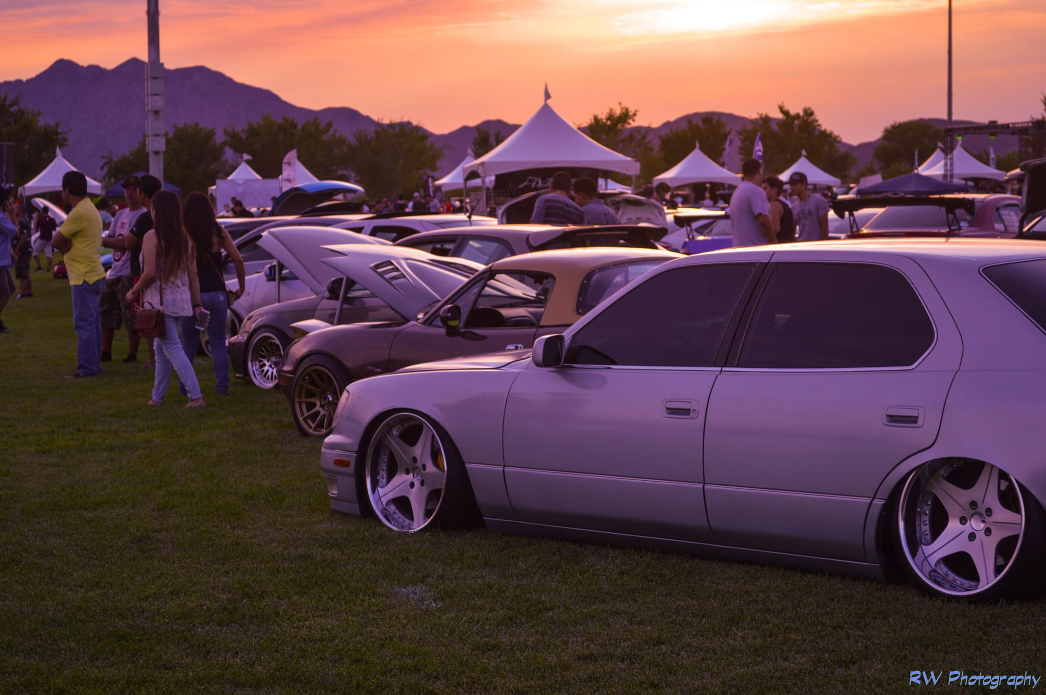 E.O.S. Car Showcase Sundown Capture by Rod Wash