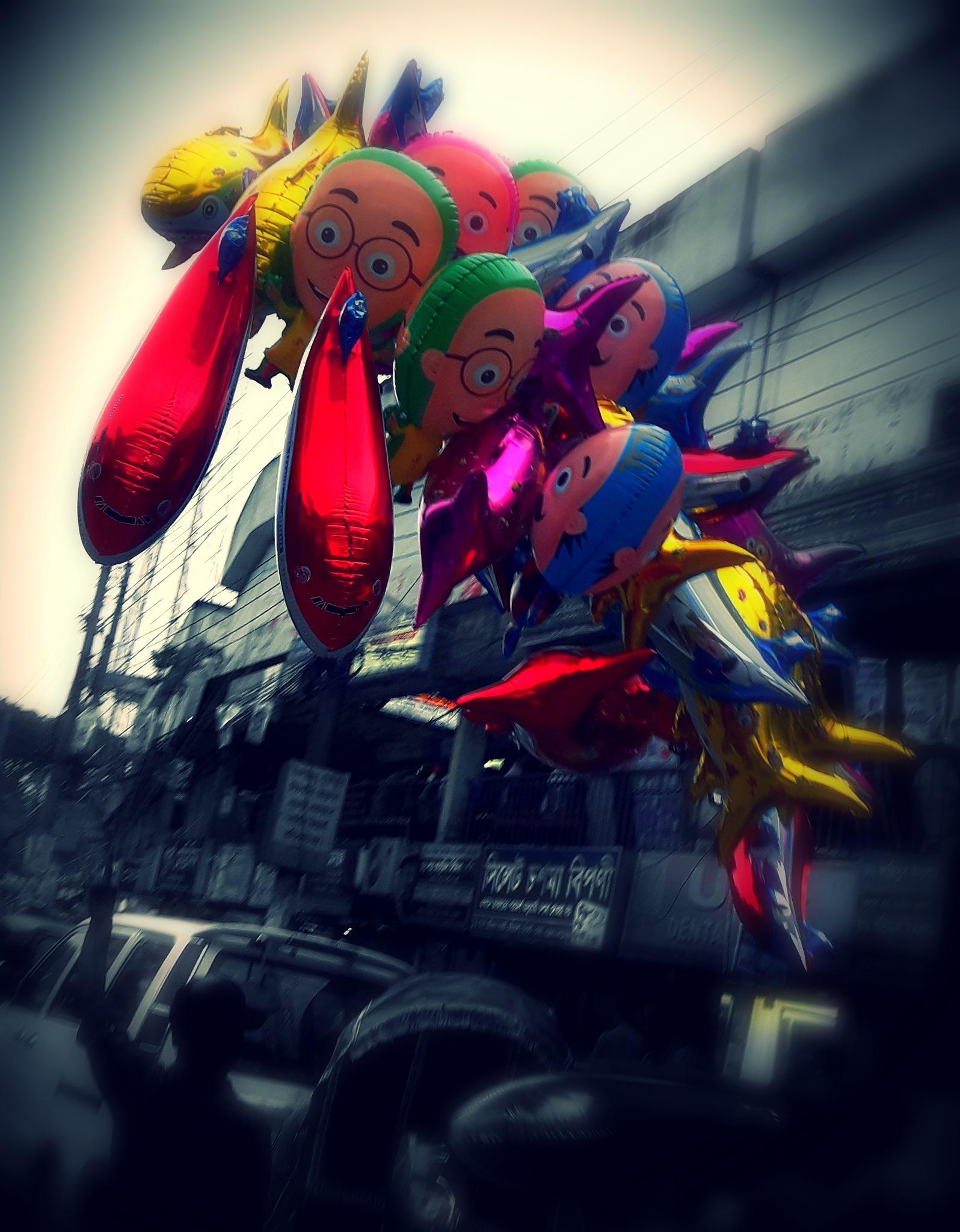 Air-balloon by Rafi islam