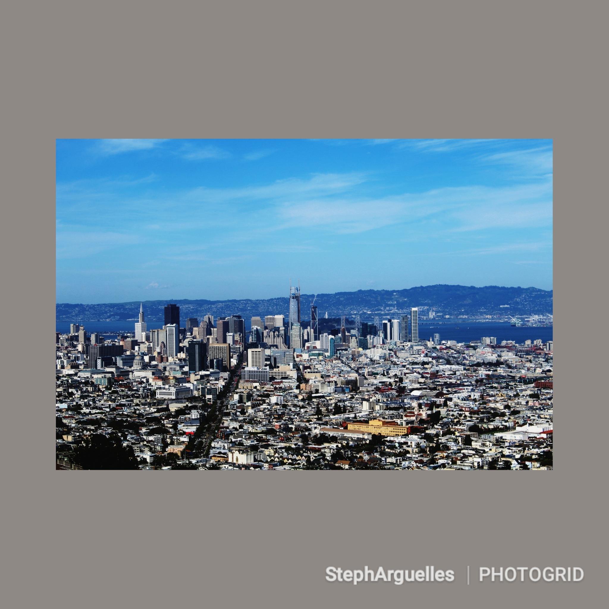 Sprawling City  by Stephanie Arguelles