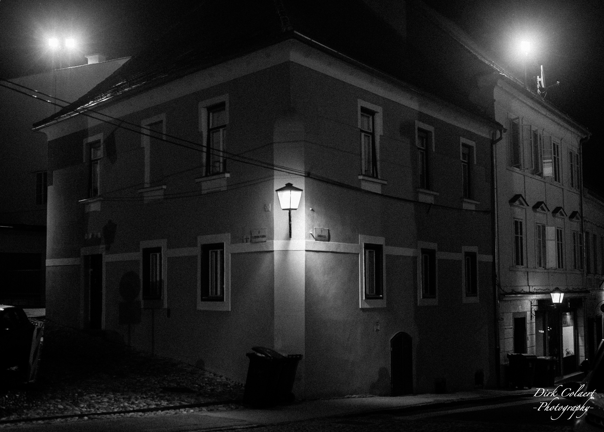 Photo in Cityscape #black&white #street #house