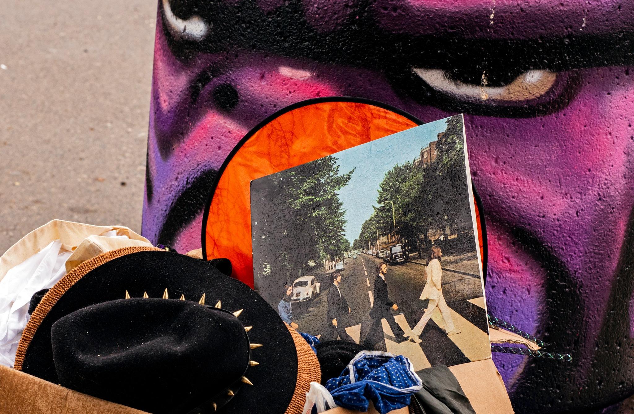 Photo in Street Photography #beatles #street #street photography #album #street images #street art #barrio logan #san diego