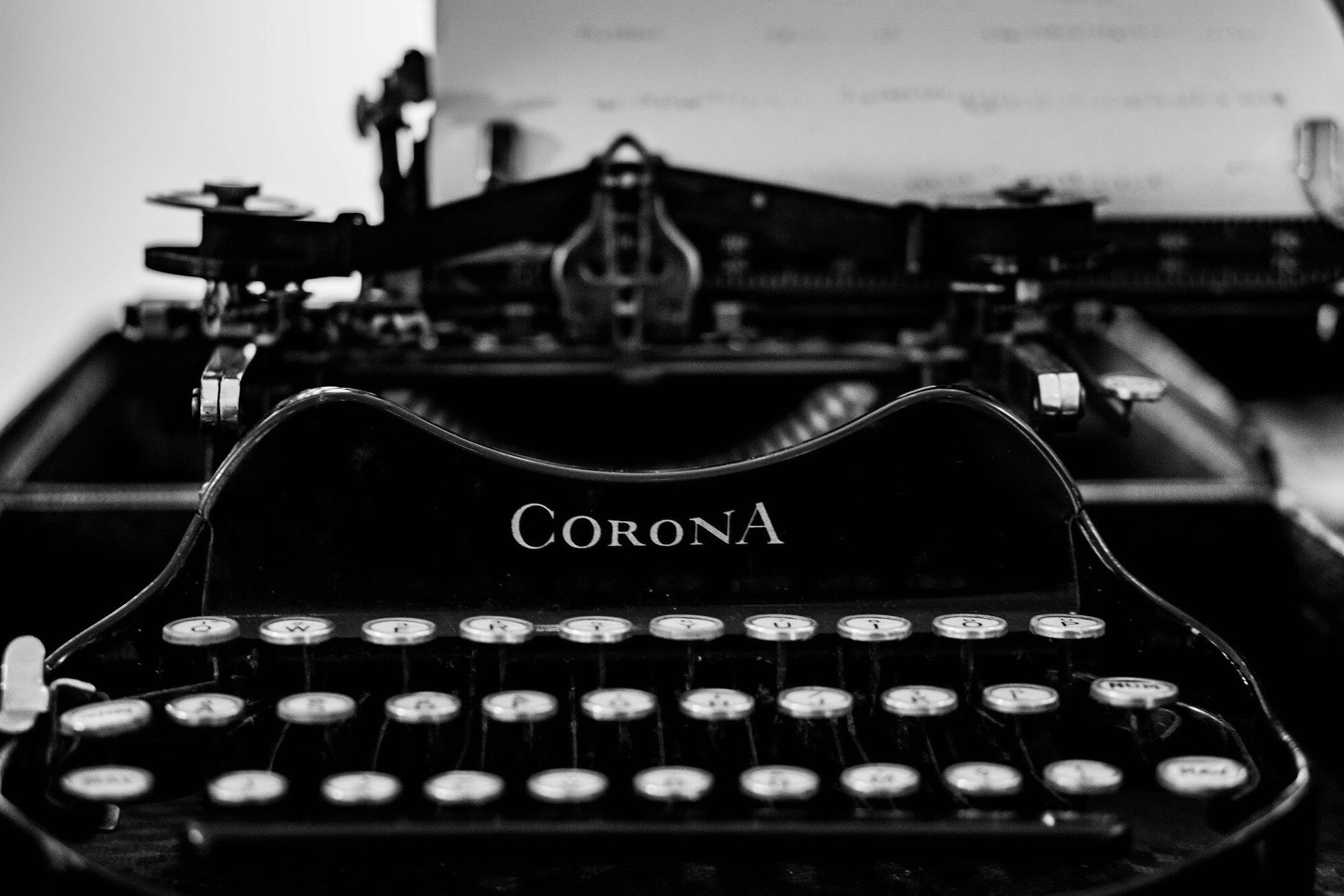 Corona Typewriter  by JamesHogan
