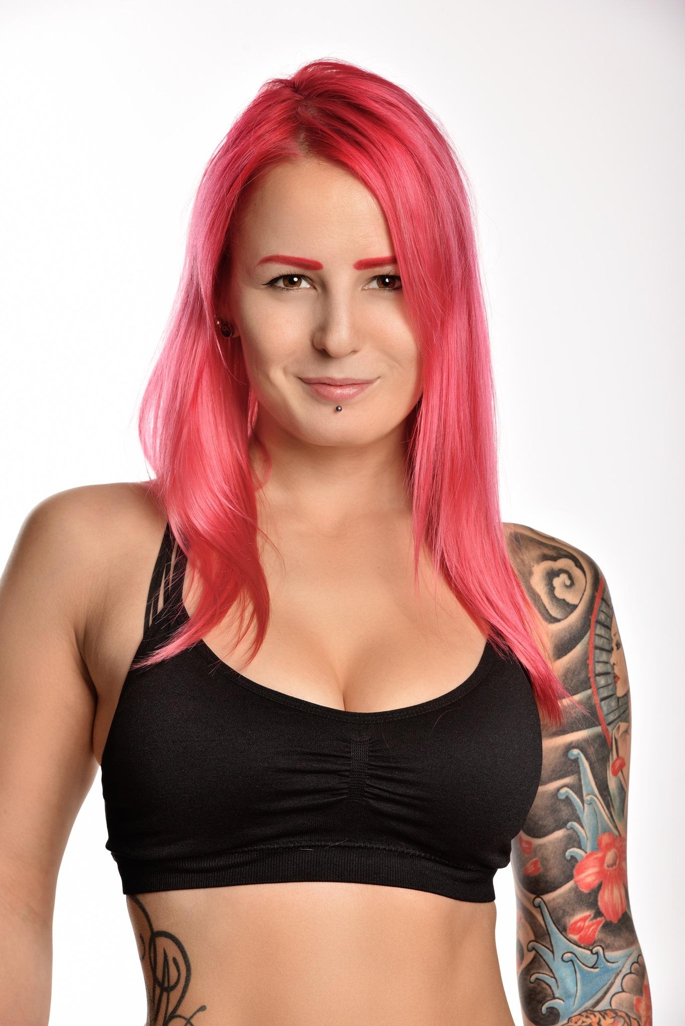 woman tattoo by Igi Petrilla