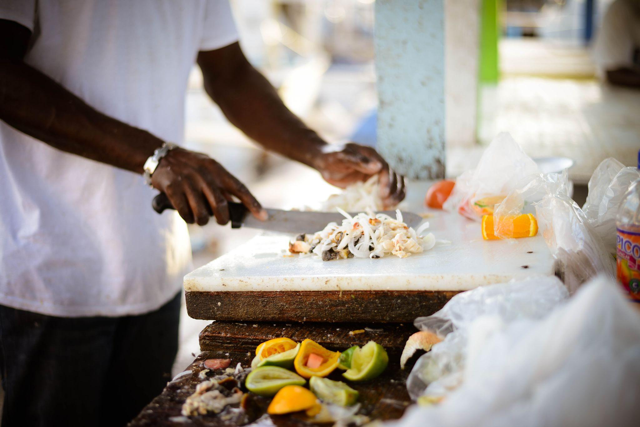 Fresh Conch Salad by Digital Kafe Photography