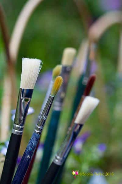 Painters in Giverny's garden... by Prenons soin de votre image