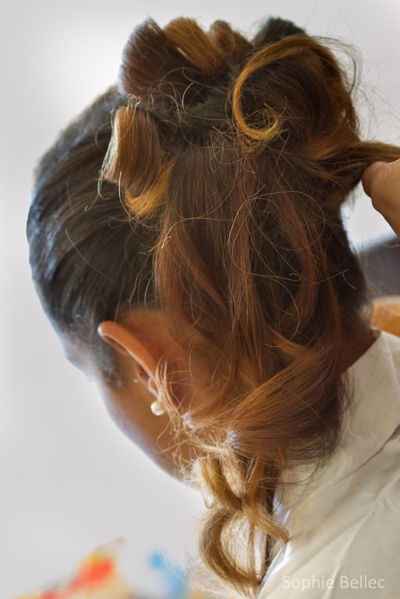 Wedding hair...  by Prenons soin de votre image