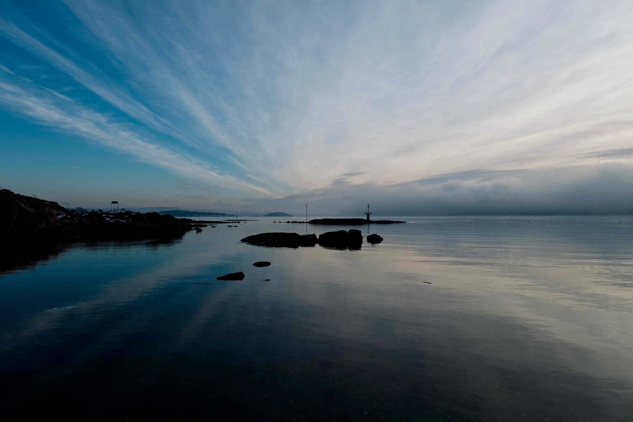 The Oslo Fjord  by JonArneFoss