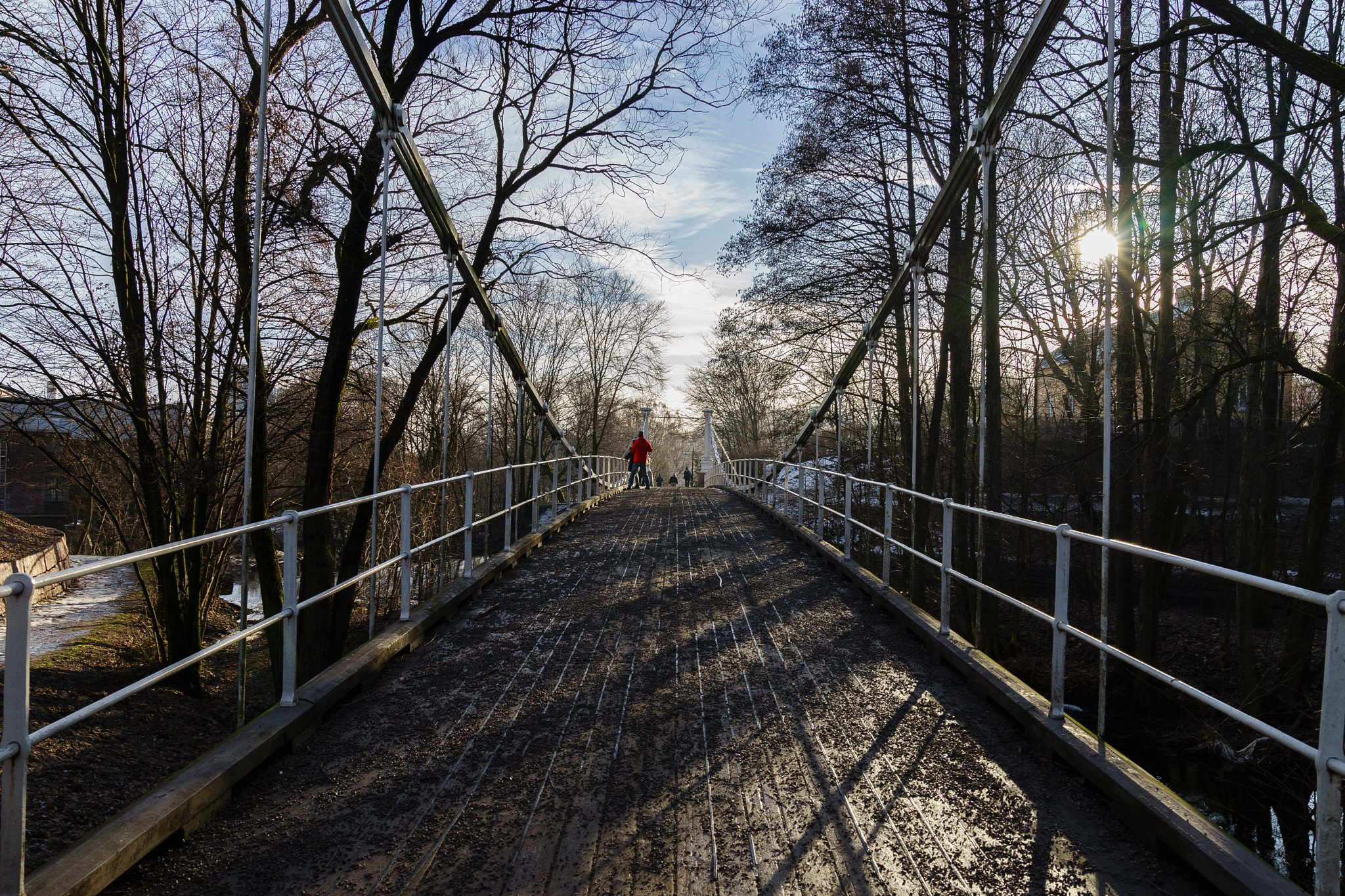 Aamodt bridge at Grünerløkka by JonArneFoss