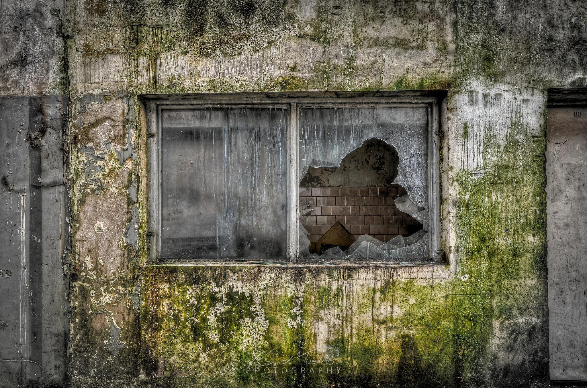 Window from the nightmares by Karol Tuśnio