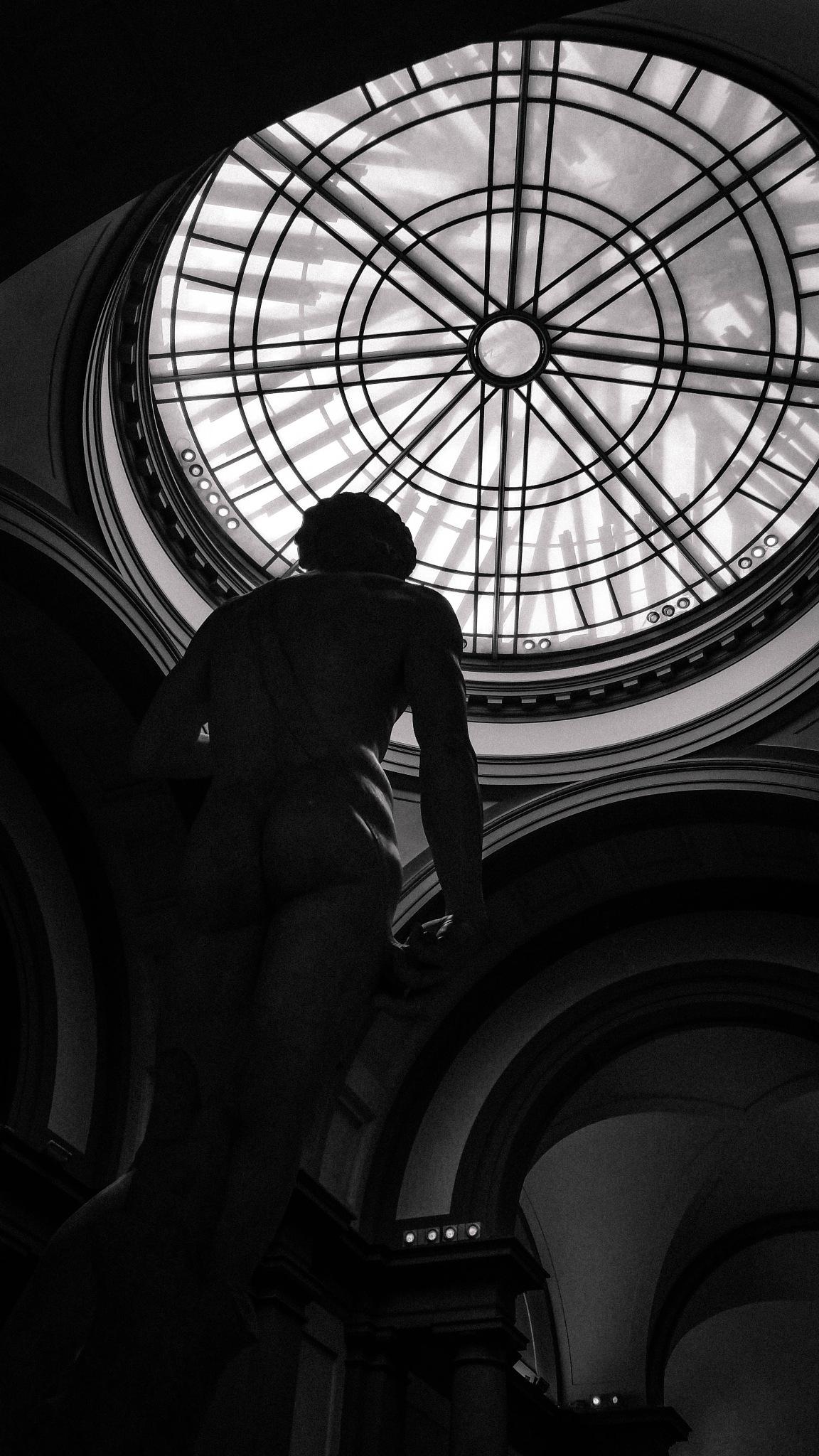 David by Michelangelo by Bulgan
